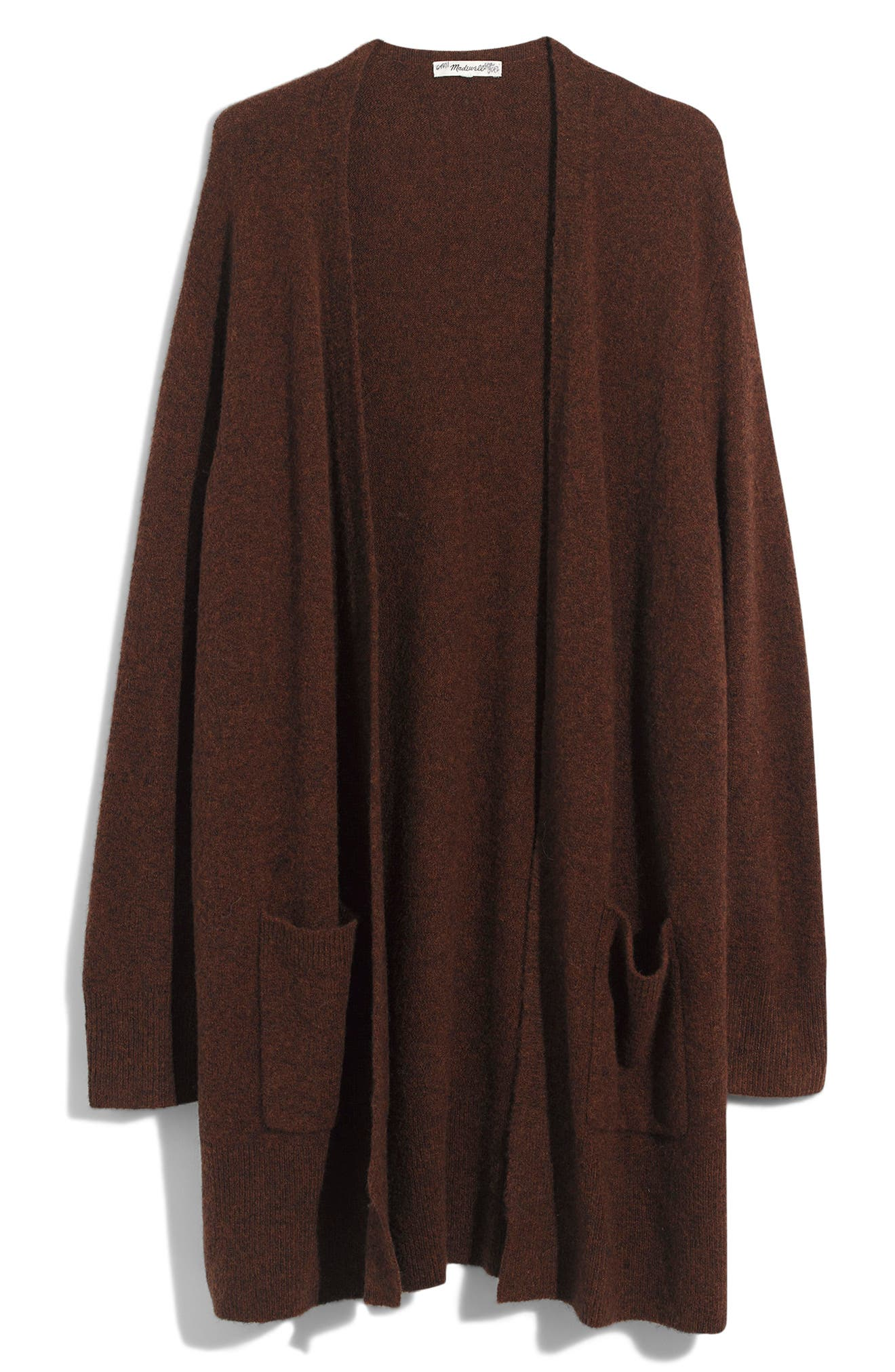 Plus Size Madewell Kent Cardigan Sweater, Brown