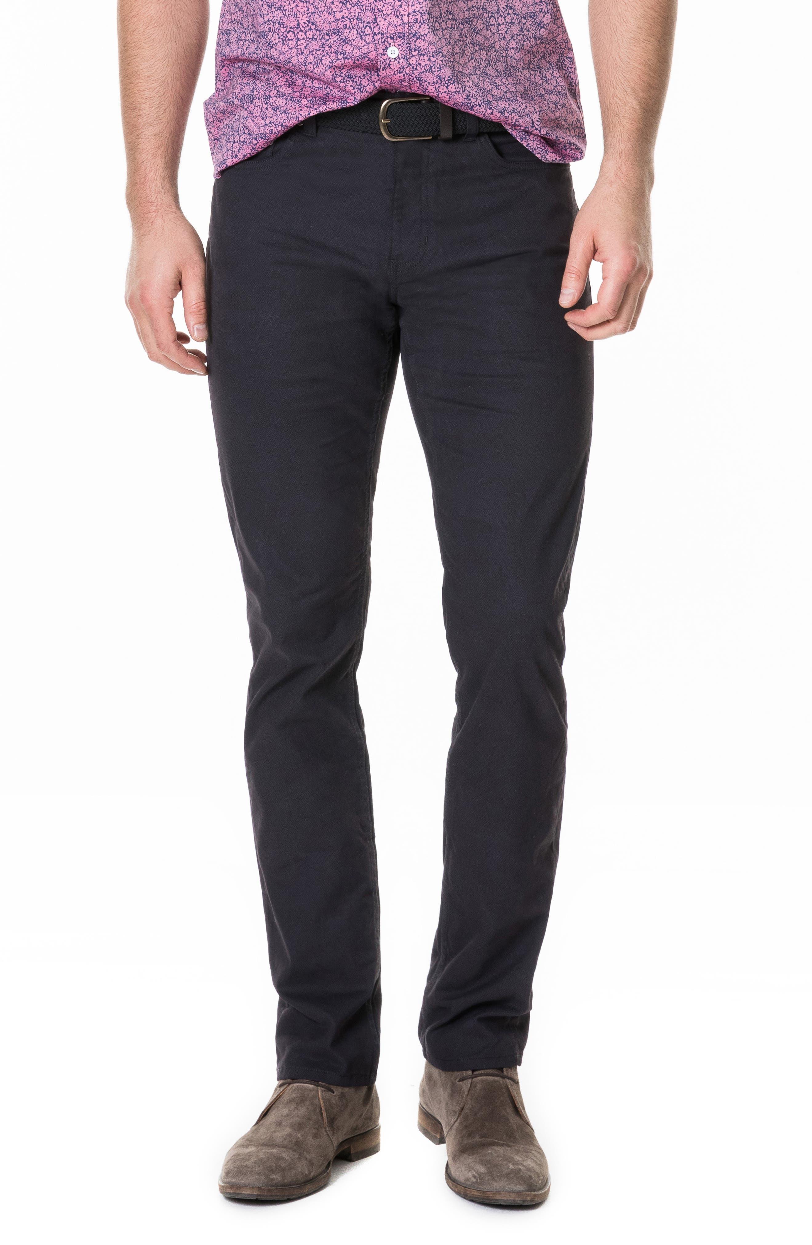 Whareflat Straight Leg Jeans,                             Main thumbnail 1, color,                             ASPHALT