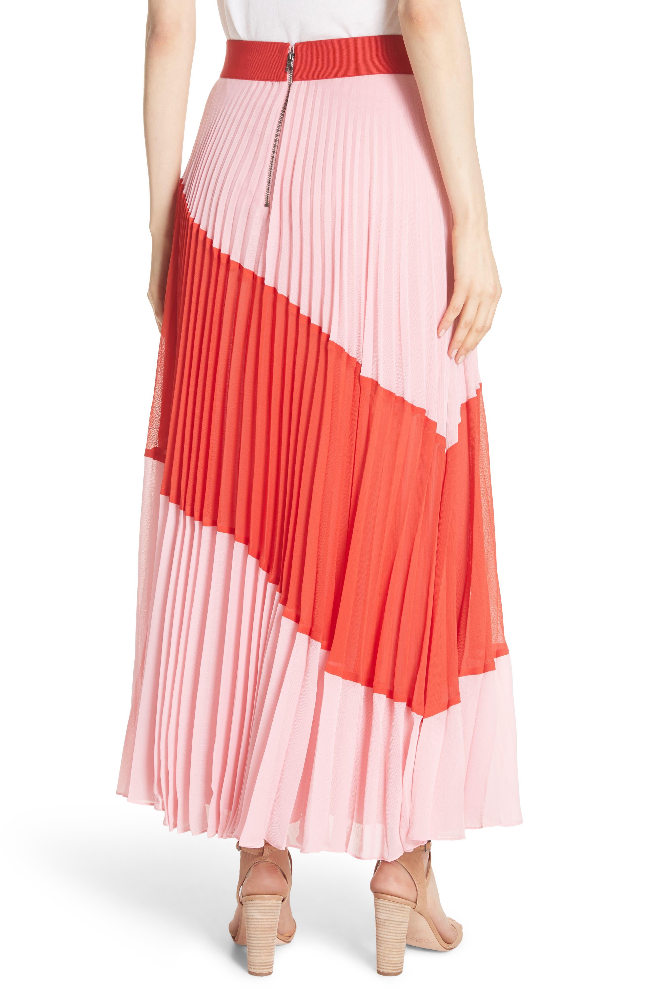Tavi Colorblock Maxi Skirt,                             Alternate thumbnail 2, color,