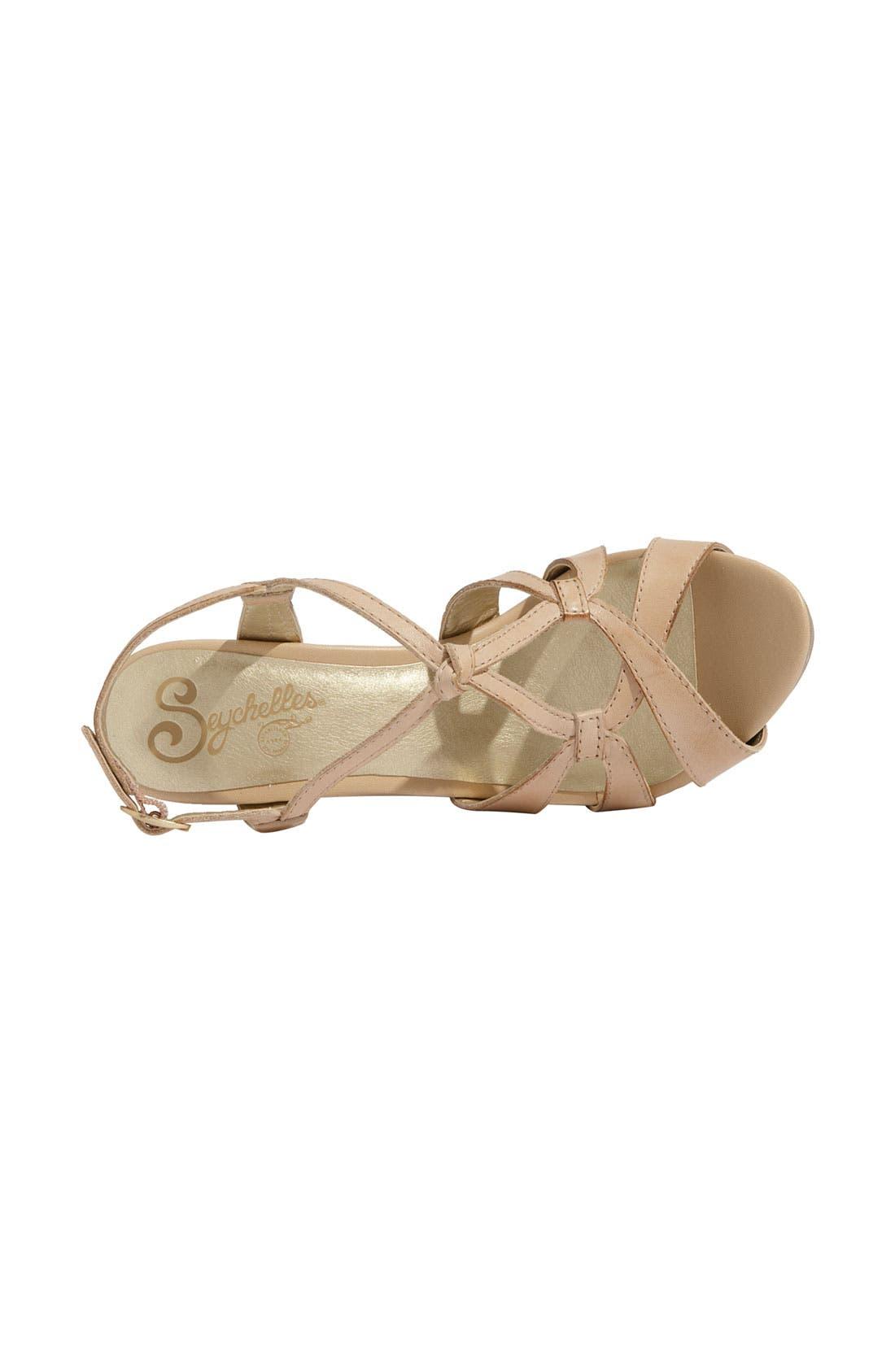 'Purr' Wedge Sandal,                             Alternate thumbnail 8, color,
