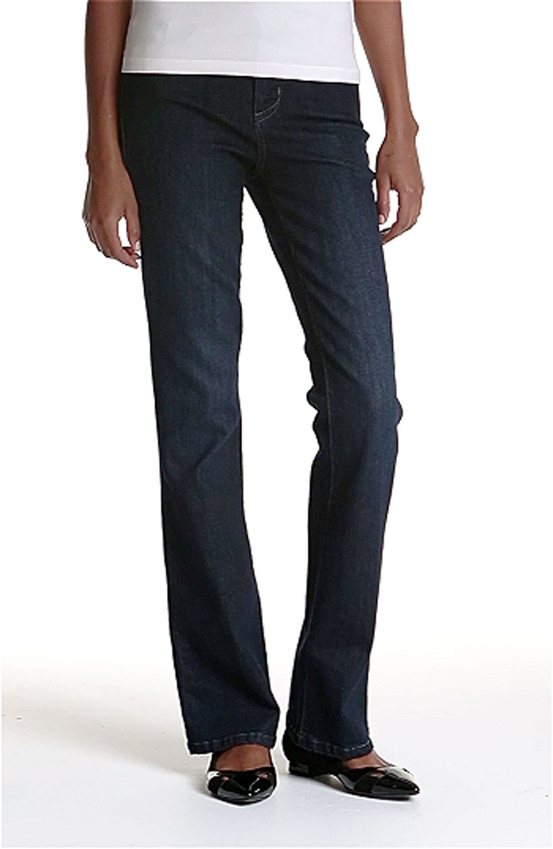 'Betty' Bootcut Stretch Jeans,                             Alternate thumbnail 2, color,                             400