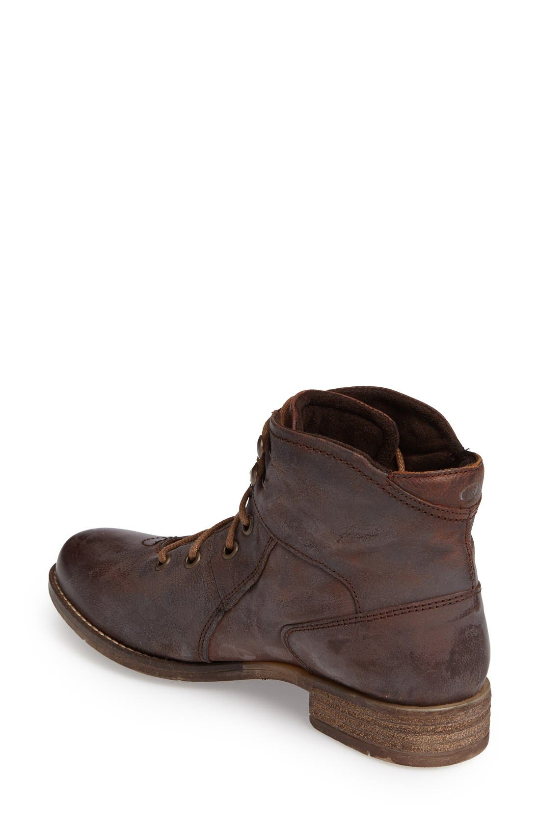 Sienna 11 Boot,                             Alternate thumbnail 5, color,                             MORO LEATHER