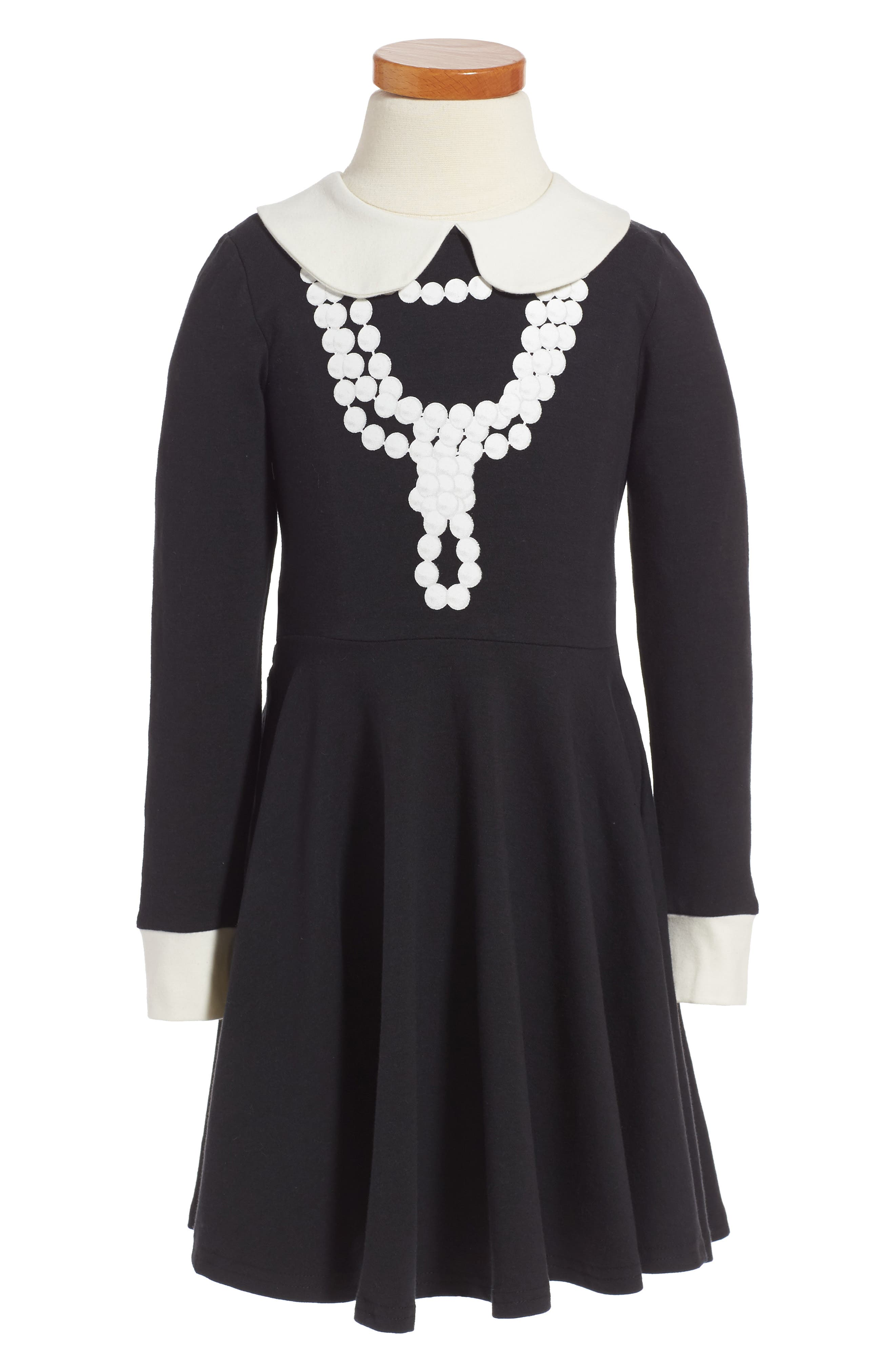 Coco Fit & Flare Dress,                             Main thumbnail 1, color,