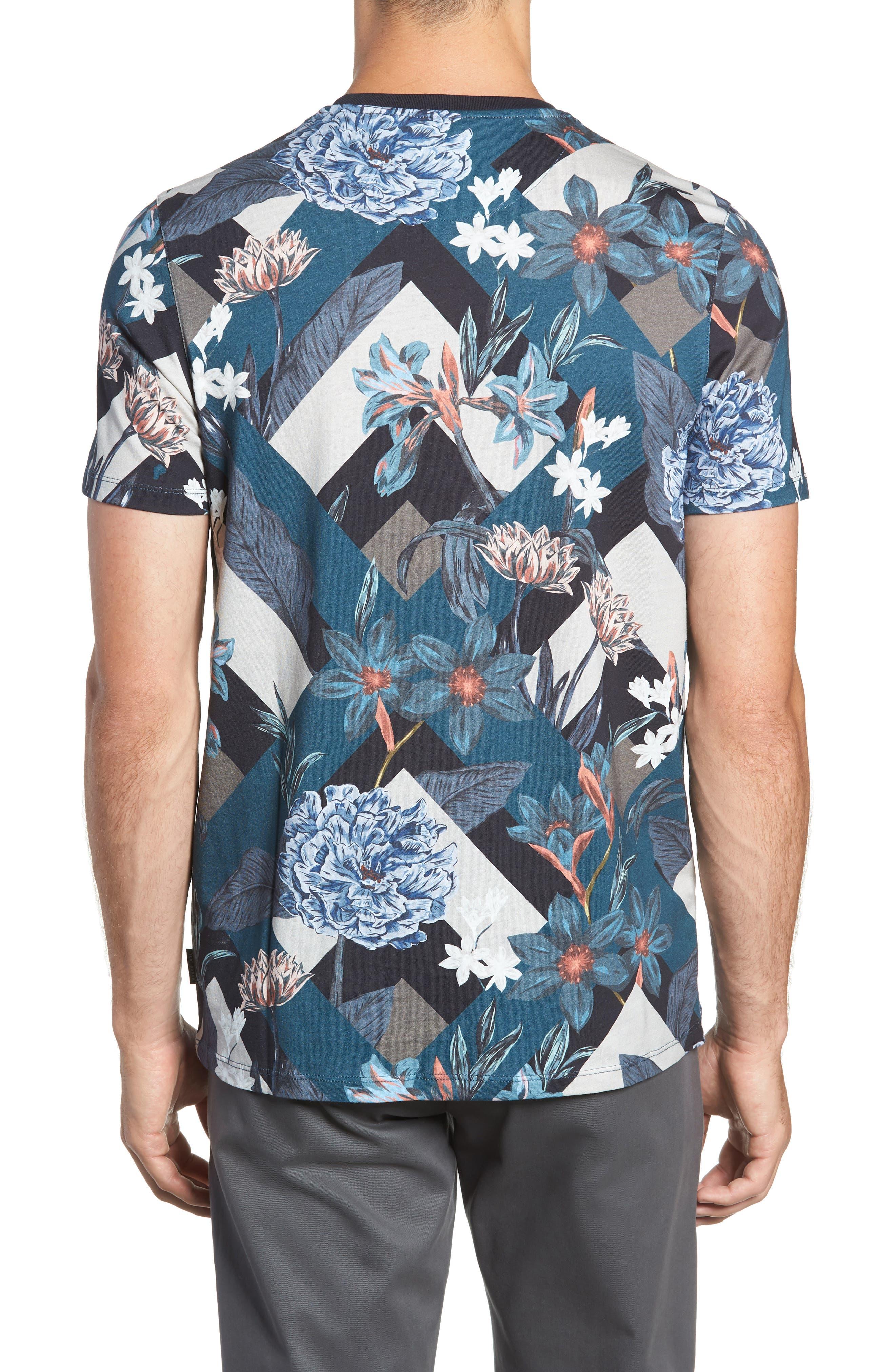 Jolly Slim Fit T-Shirt,                             Alternate thumbnail 2, color,                             NAVY