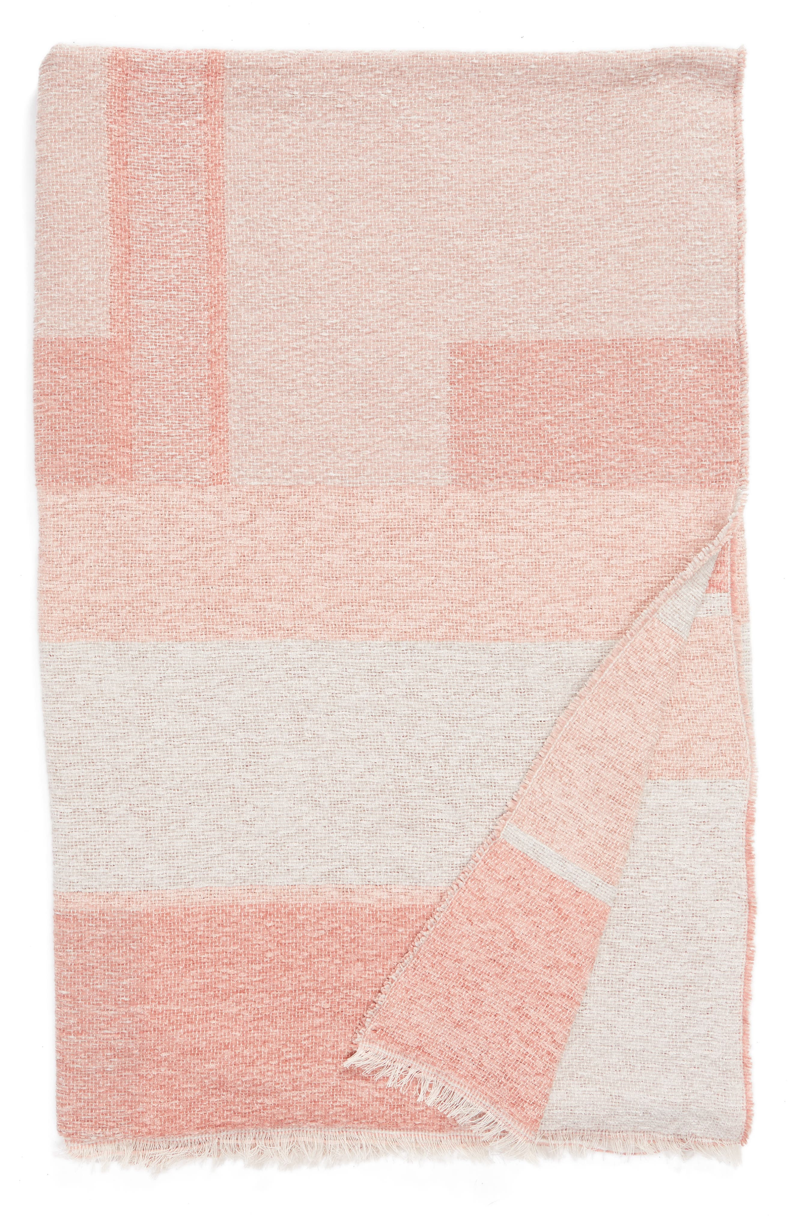 Geo Throw Blanket,                             Main thumbnail 1, color,                             PINK MISTY MULTI