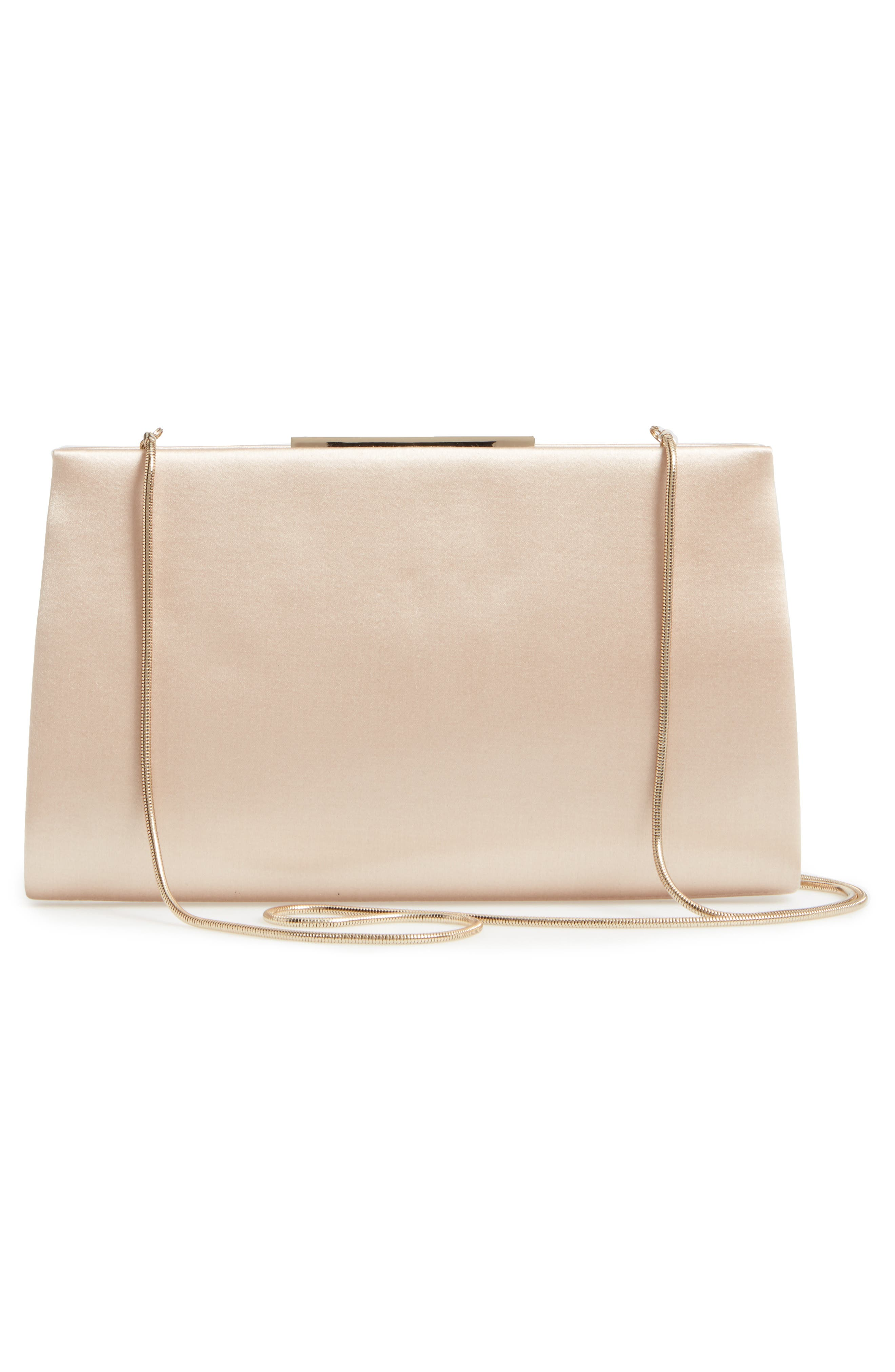 Dare Satin Clutch,                             Alternate thumbnail 8, color,