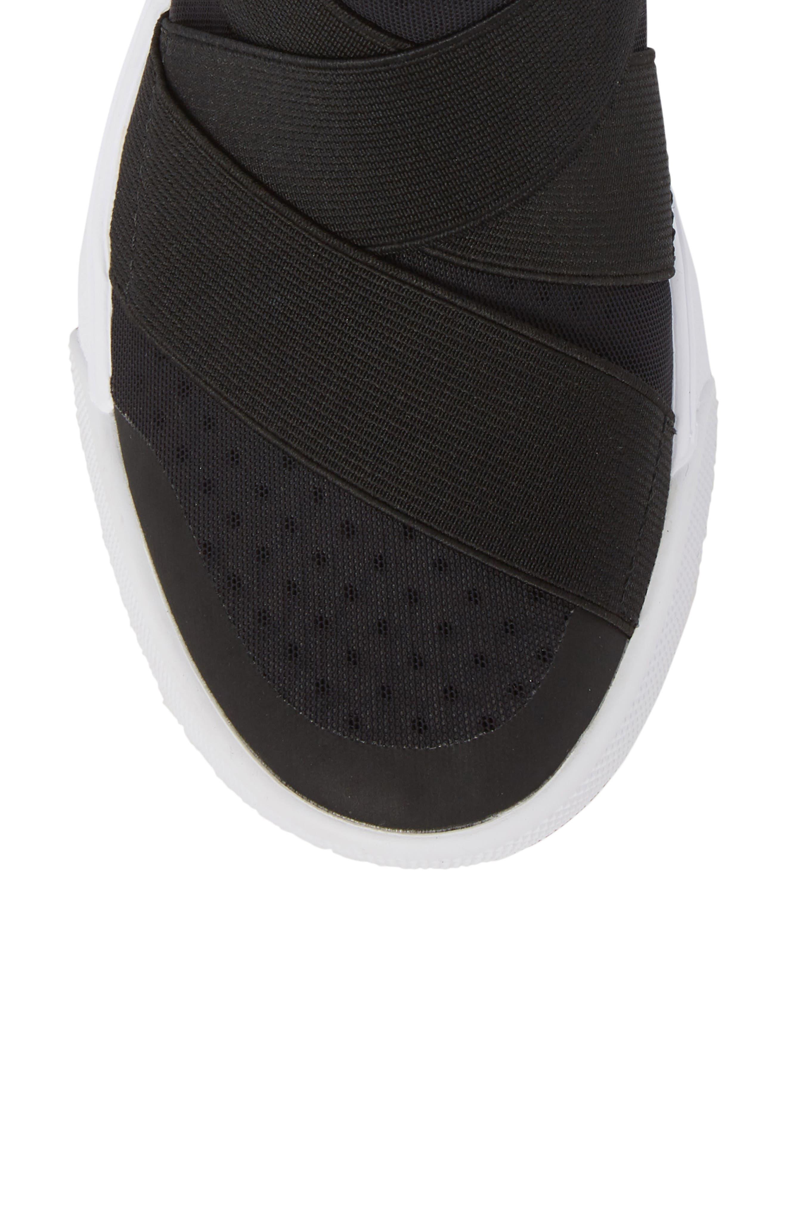 UltraRange Gore Slip-On Sneaker,                             Alternate thumbnail 5, color,                             BLACK