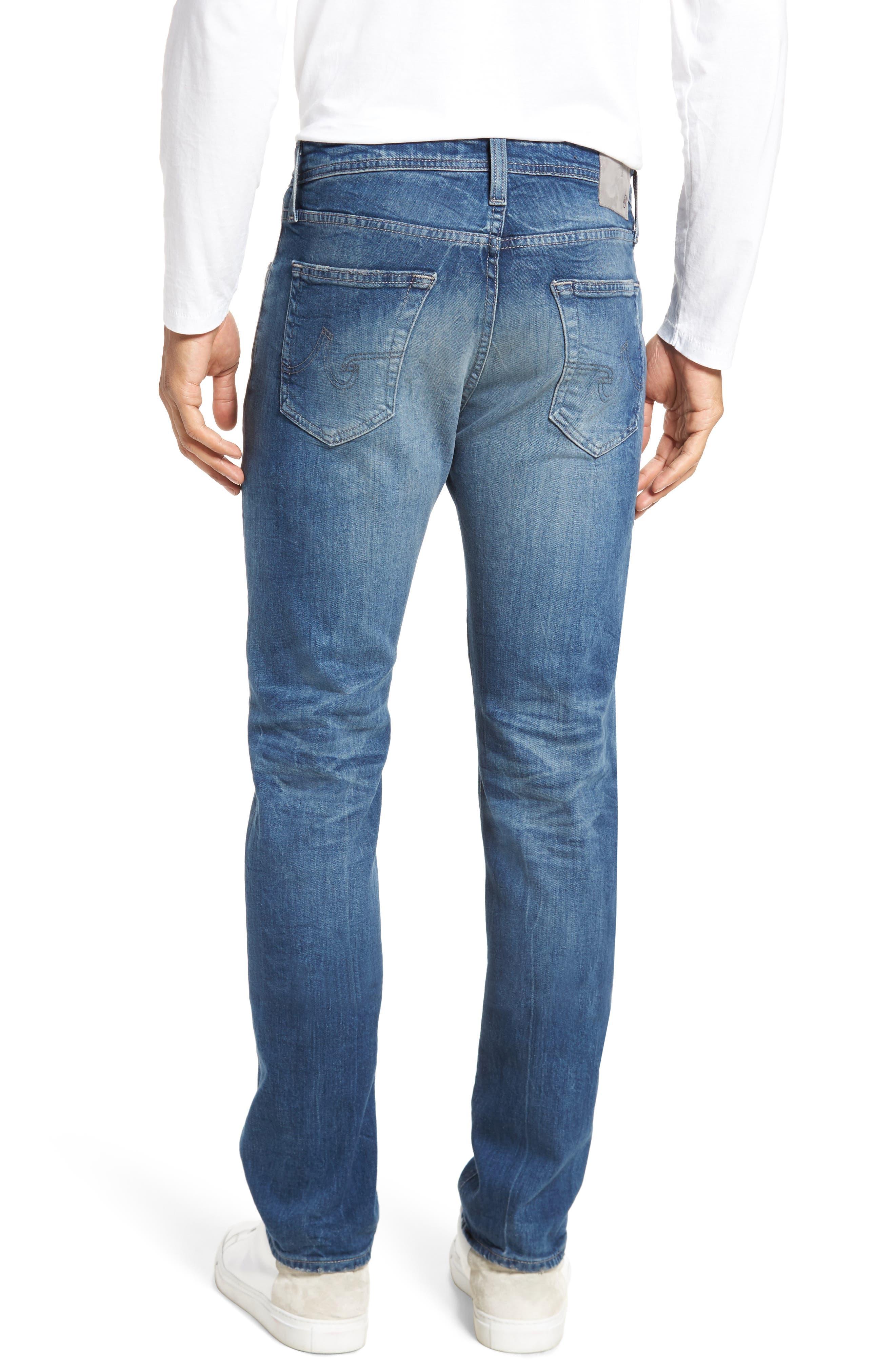 Everett Slim Straight Leg Jeans,                             Alternate thumbnail 2, color,                             429