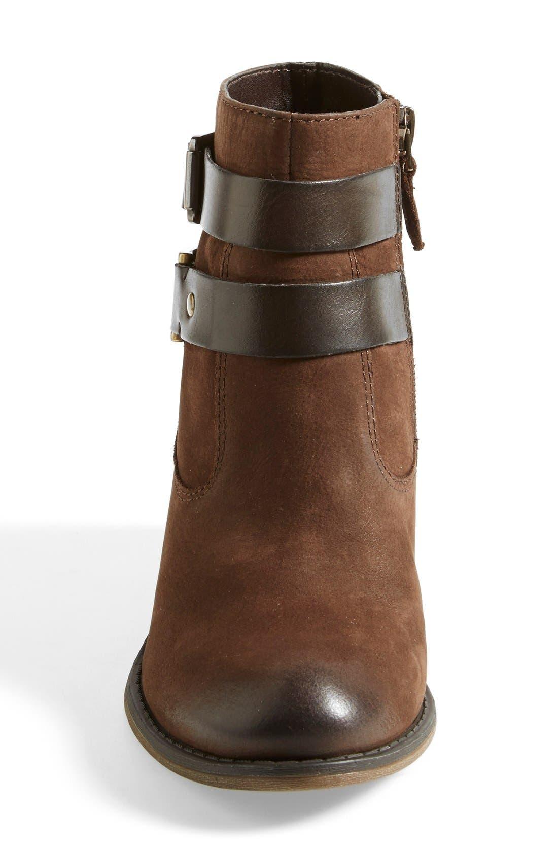 'Linden' Leather Bootie,                             Alternate thumbnail 12, color,