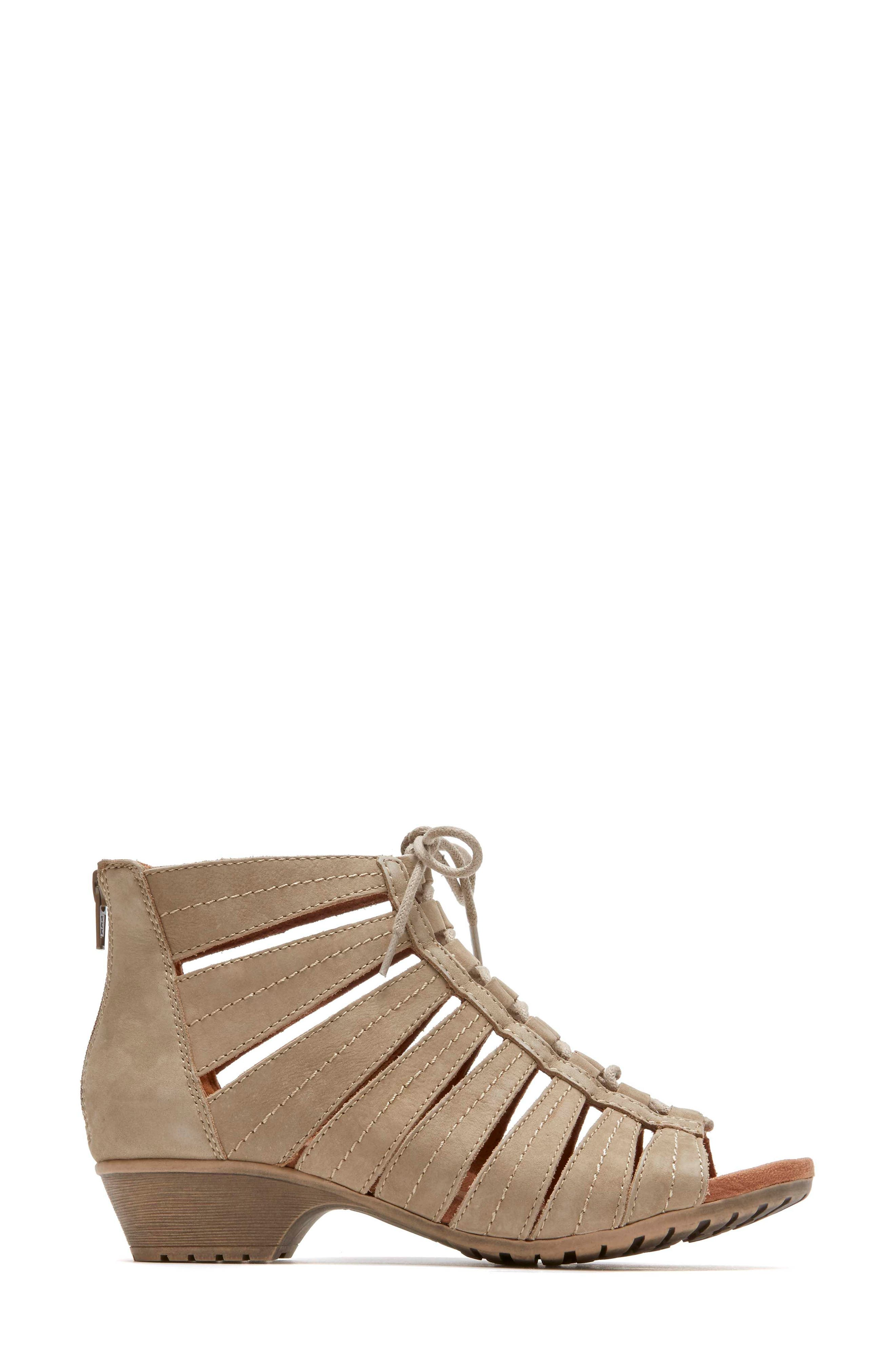 'Gabby' Lace-Up Sandal,                             Alternate thumbnail 17, color,