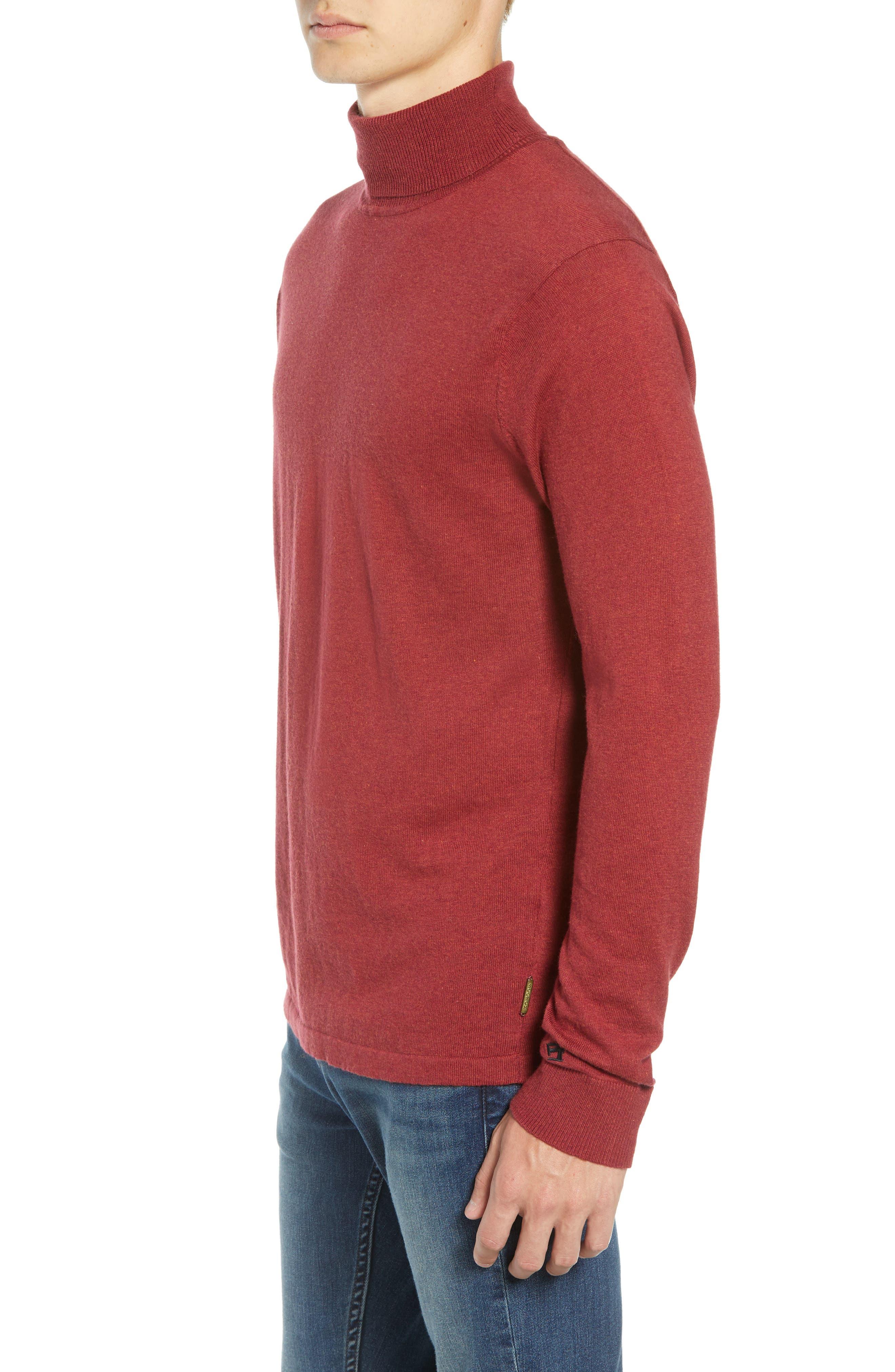 Turtleneck Sweater,                             Alternate thumbnail 3, color,                             610