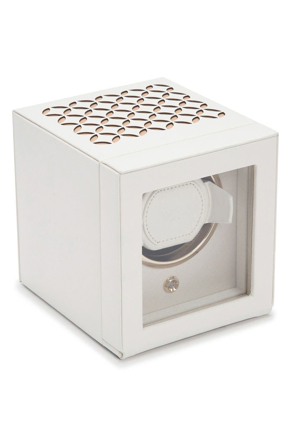 Watch Winder,                             Main thumbnail 1, color,                             CREAM