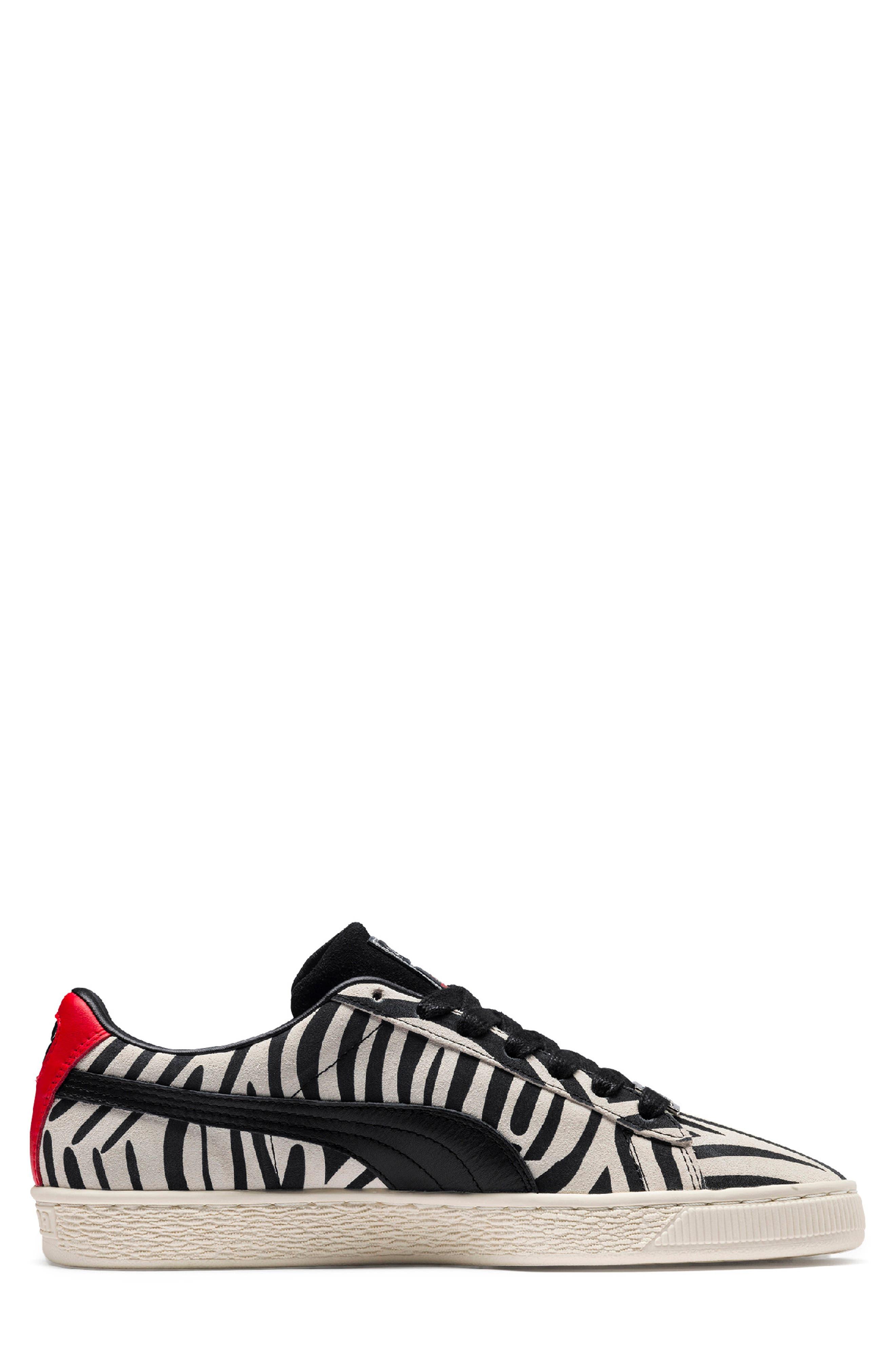 x Paul Stanley Suede Classic Sneaker,                             Alternate thumbnail 2, color,                             100