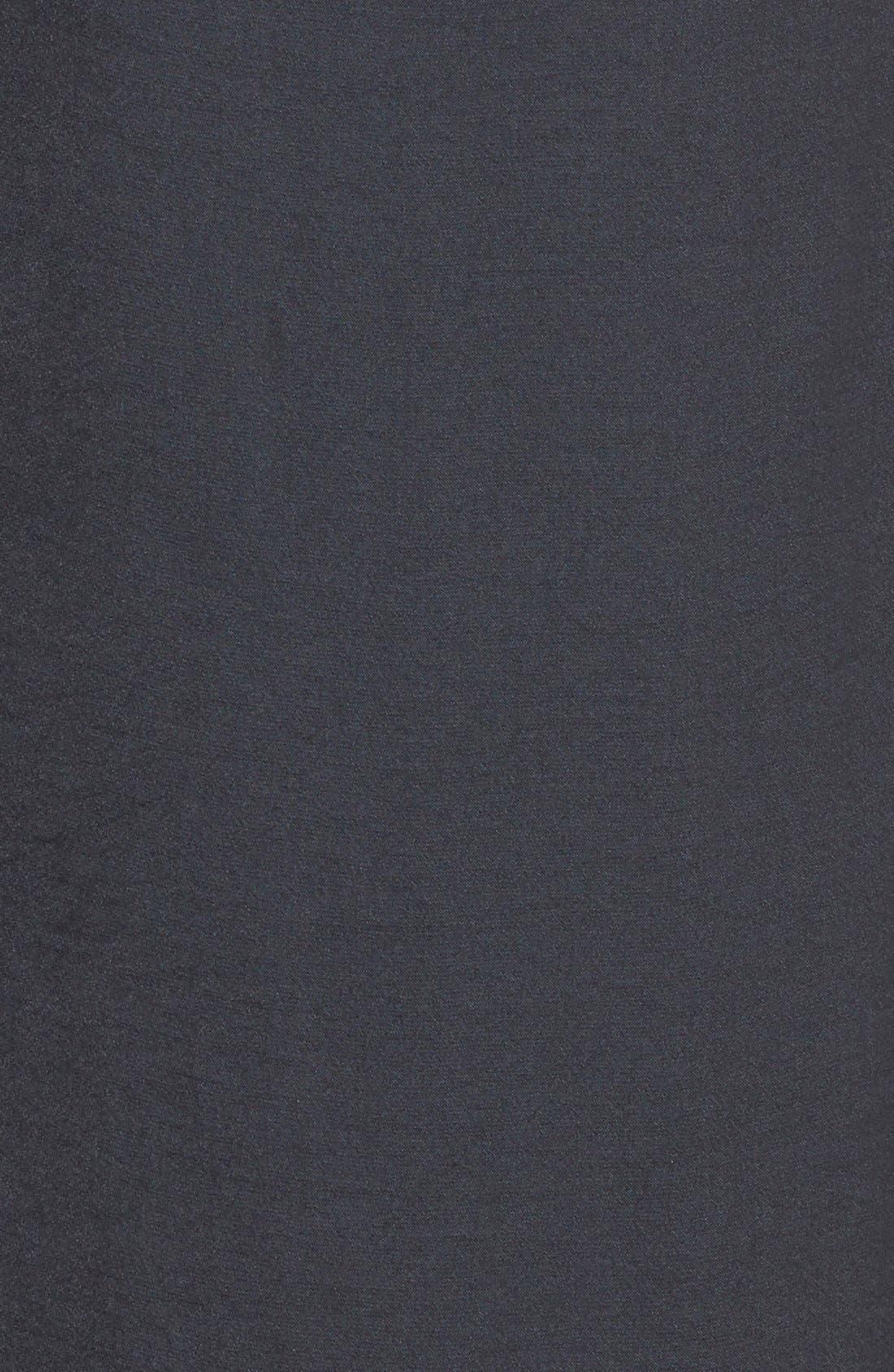 TROUVÉ,                             Twist Back Dress,                             Alternate thumbnail 3, color,                             001
