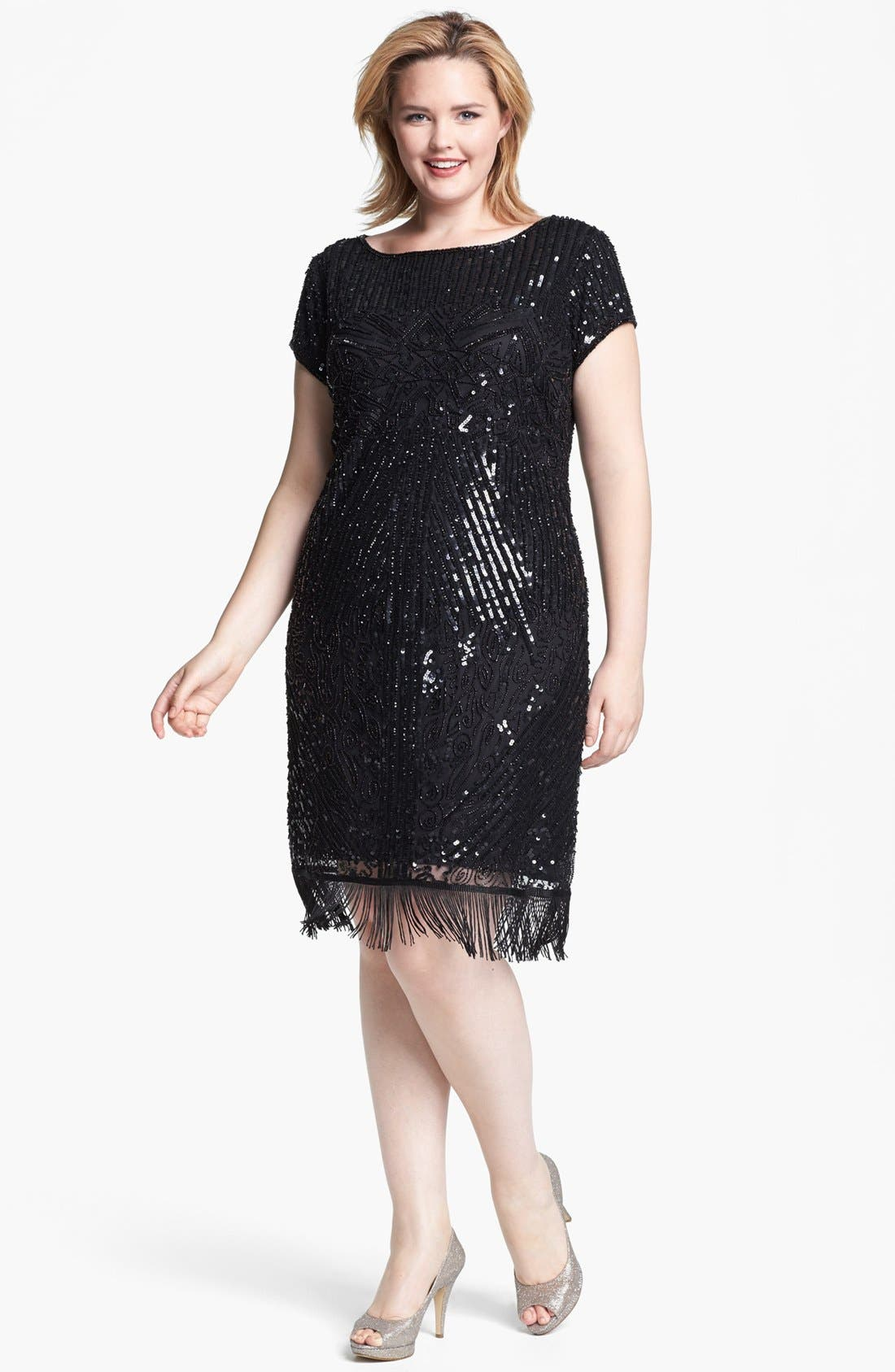 Embellished Dress,                             Main thumbnail 1, color,                             001