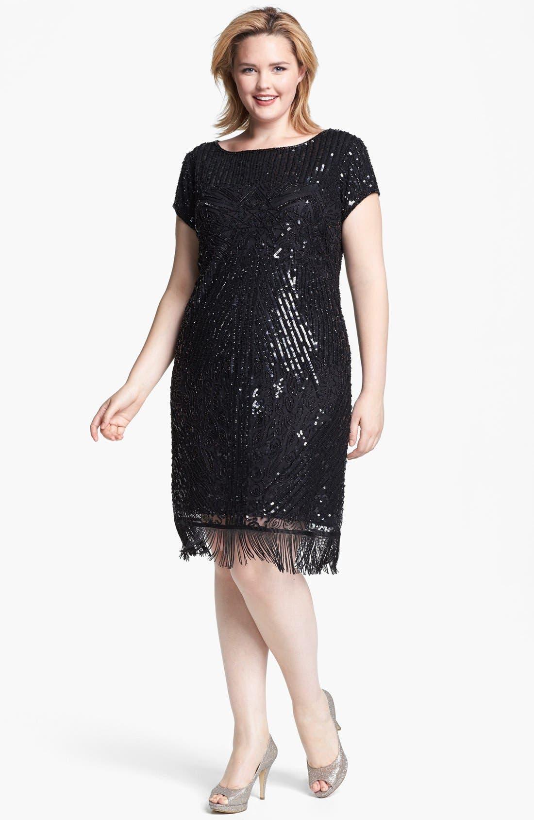 Embellished Dress,                         Main,                         color, 001