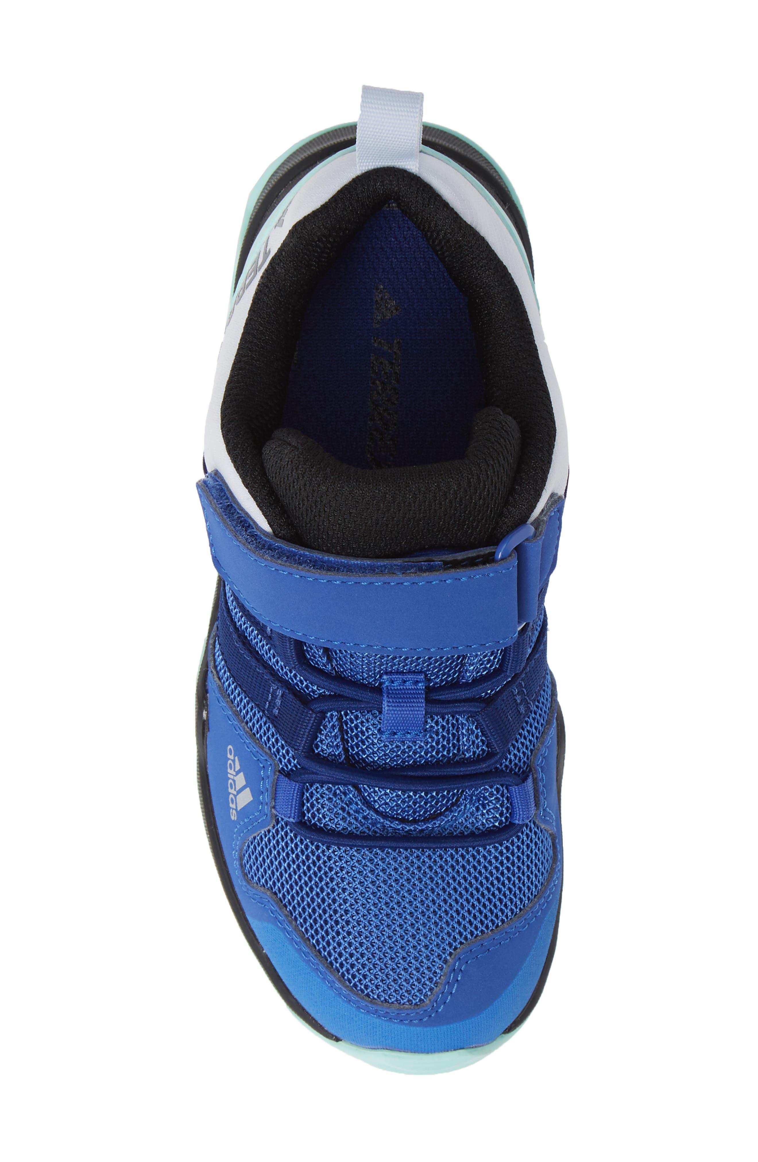 Terrex AX2R Sneaker,                             Alternate thumbnail 5, color,                             HI-RES BLUE/ MYSTERY INK/ MINT
