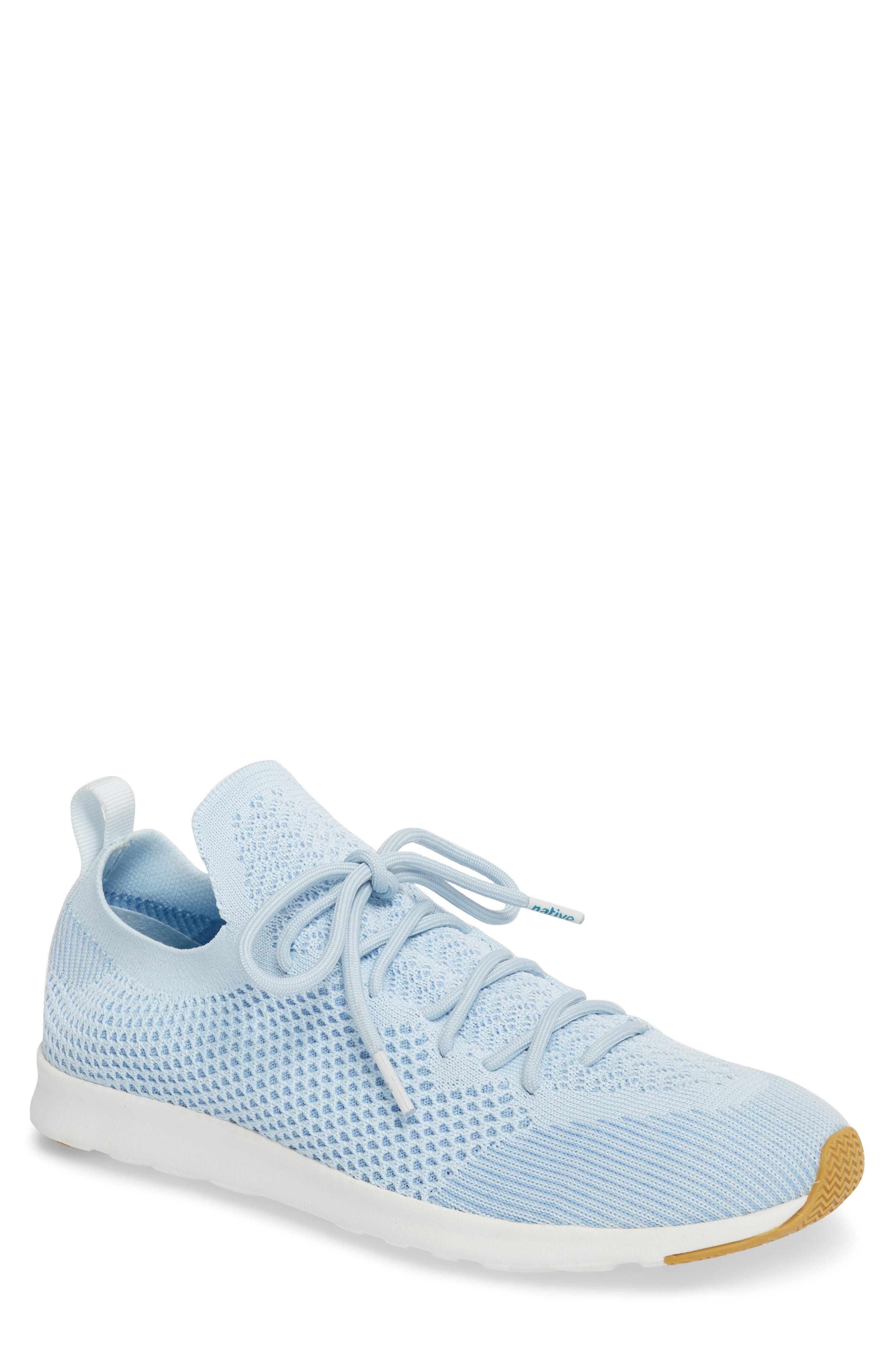 AP Mercury Liteknit<sup>™</sup> Sneaker,                         Main,                         color, AIR BLUE/ SHELL WHITE