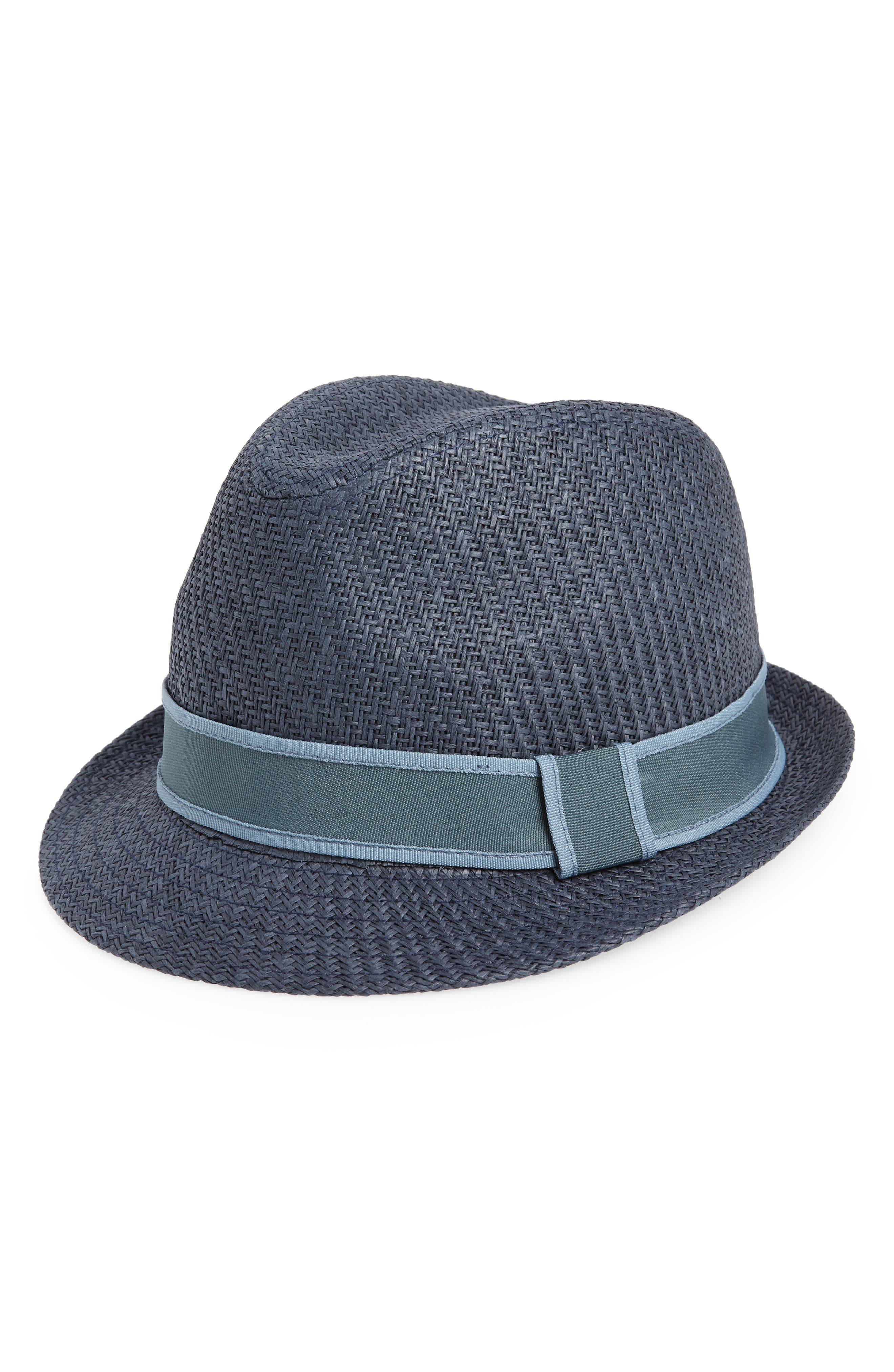 Goorin Killian Fedora,                             Main thumbnail 1, color,                             BLUE