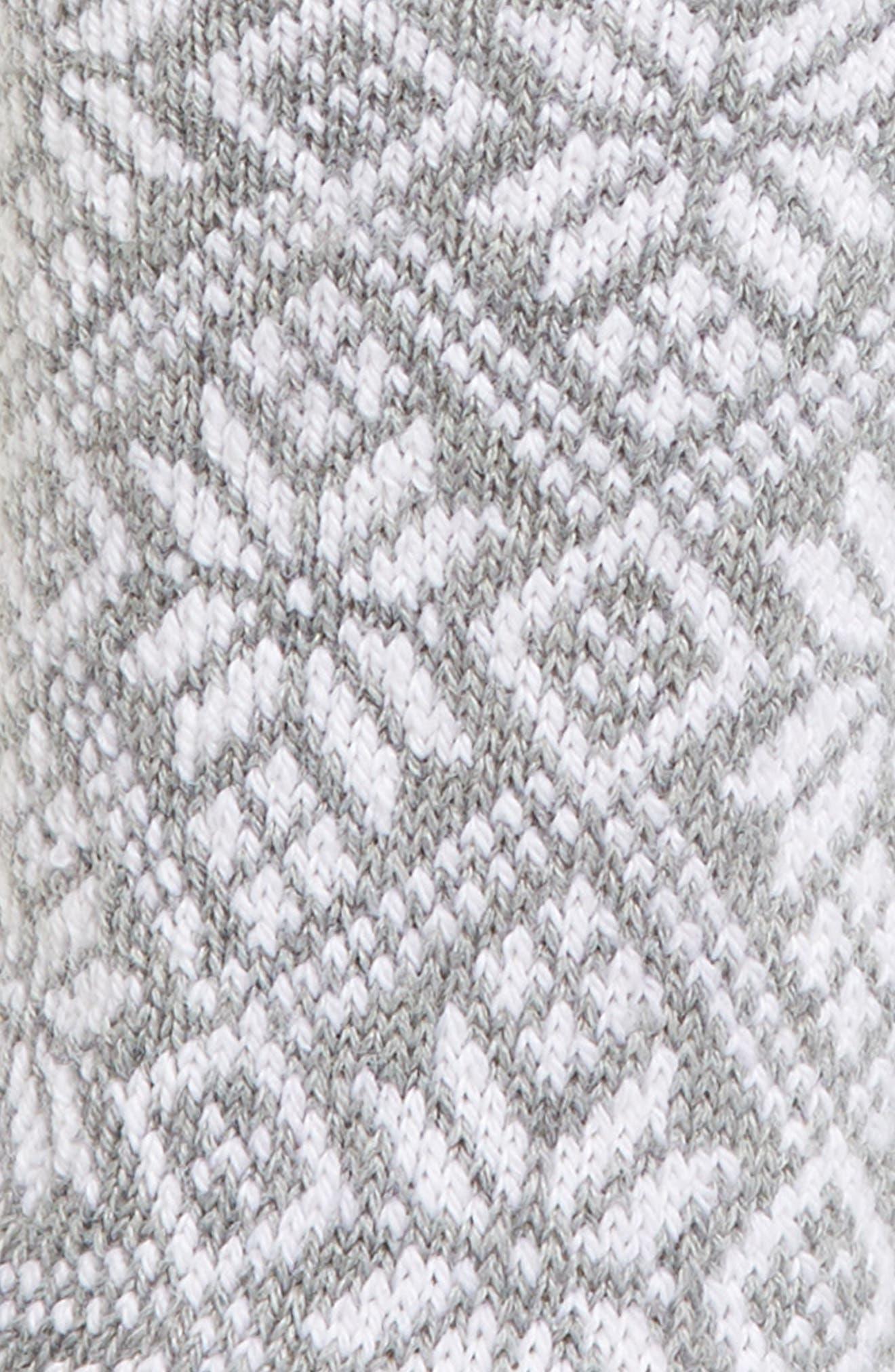 Traditional Snowflake Crew Socks,                             Alternate thumbnail 2, color,                             051