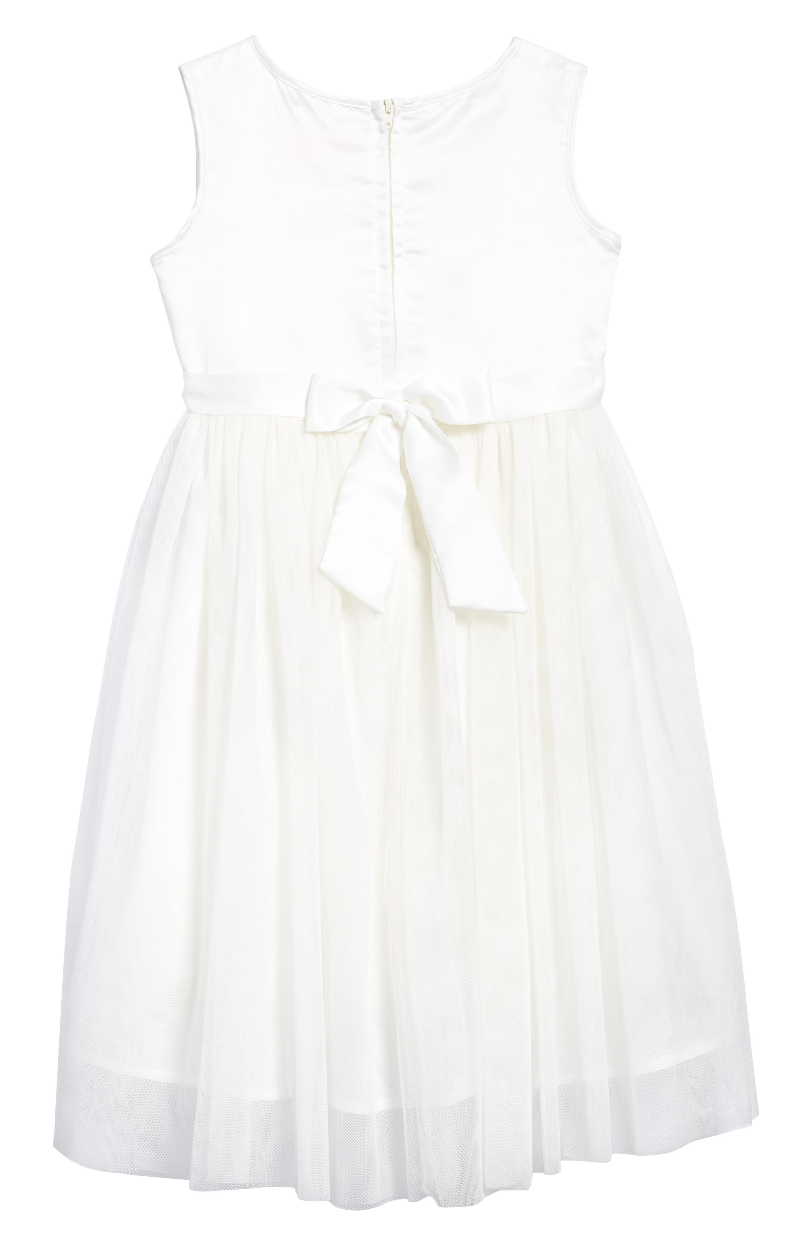Daisy Tulle Dress,                             Alternate thumbnail 2, color,
