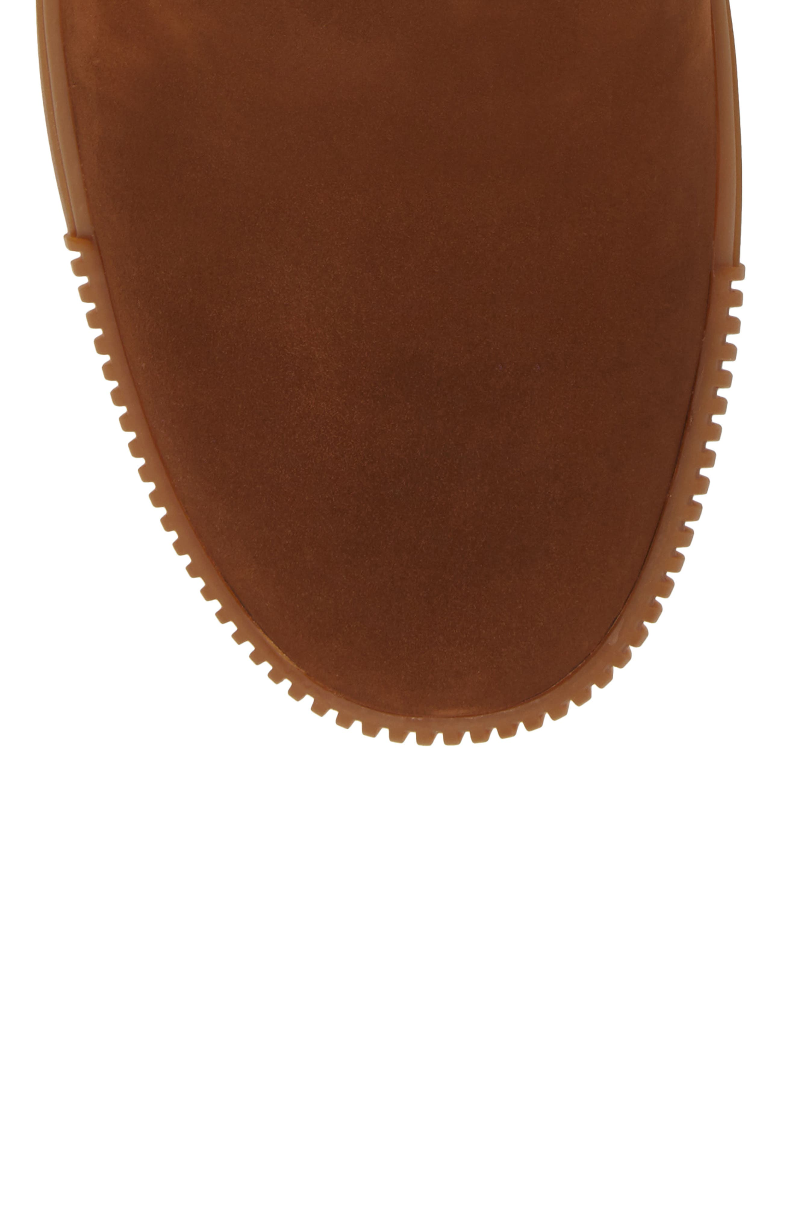 Lyons Chelsea Boot,                             Alternate thumbnail 5, color,                             CHOCOLATE SUEDE