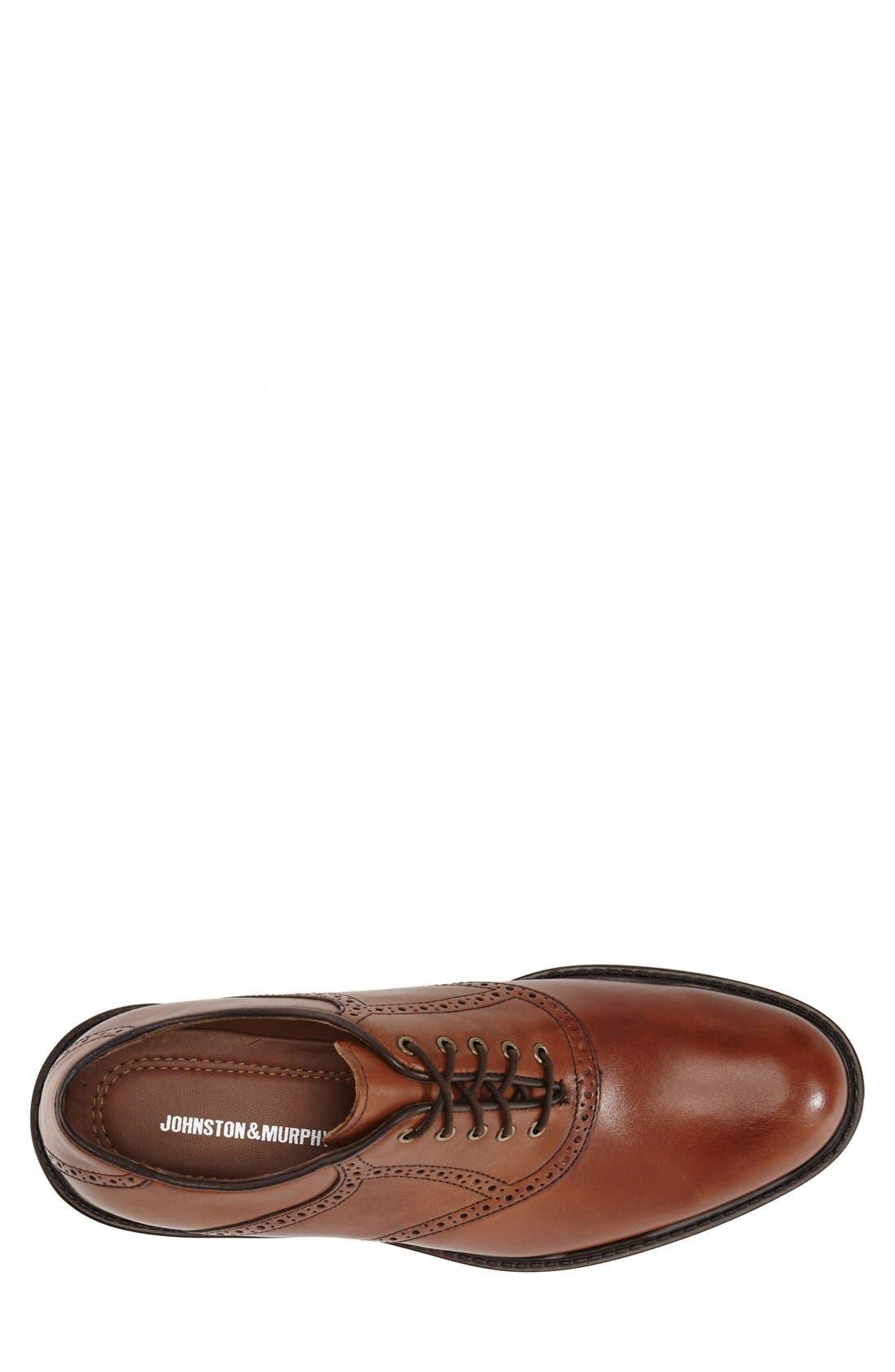 'Tabor' Saddle Shoe,                             Alternate thumbnail 3, color,                             MAHOGANY