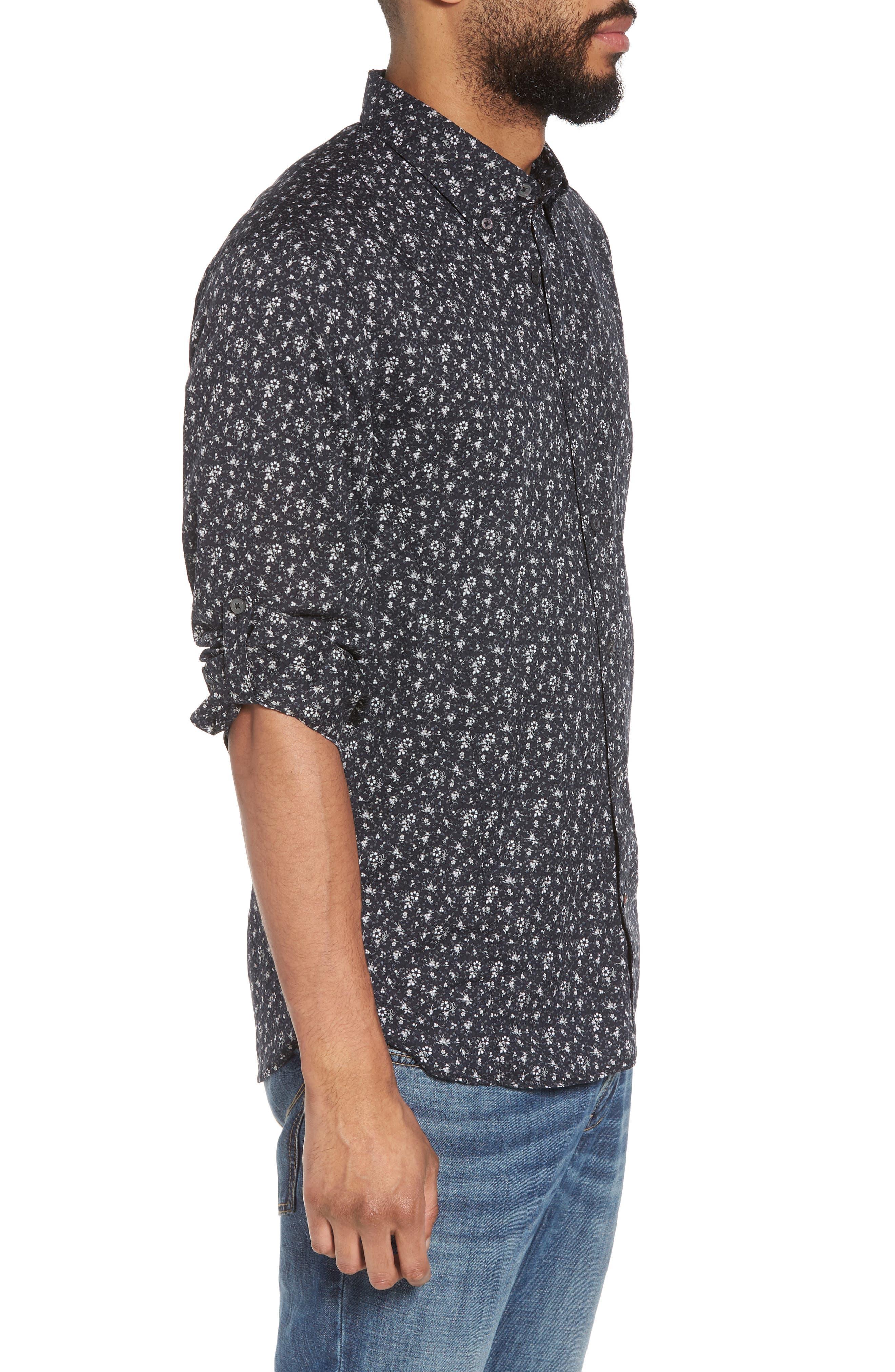 Extra Slim Fit Sport Shirt,                             Alternate thumbnail 3, color,                             012