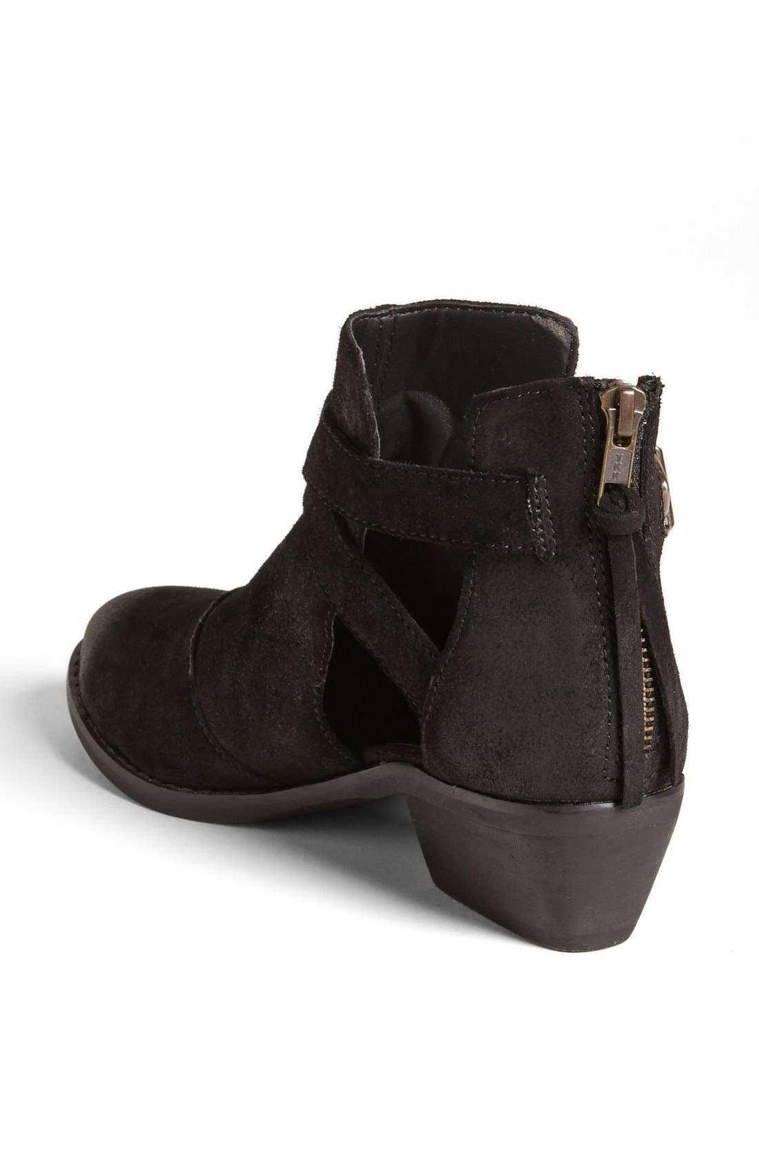 STEVE MADDEN,                             'Cinch' Bootie,                             Alternate thumbnail 3, color,                             006