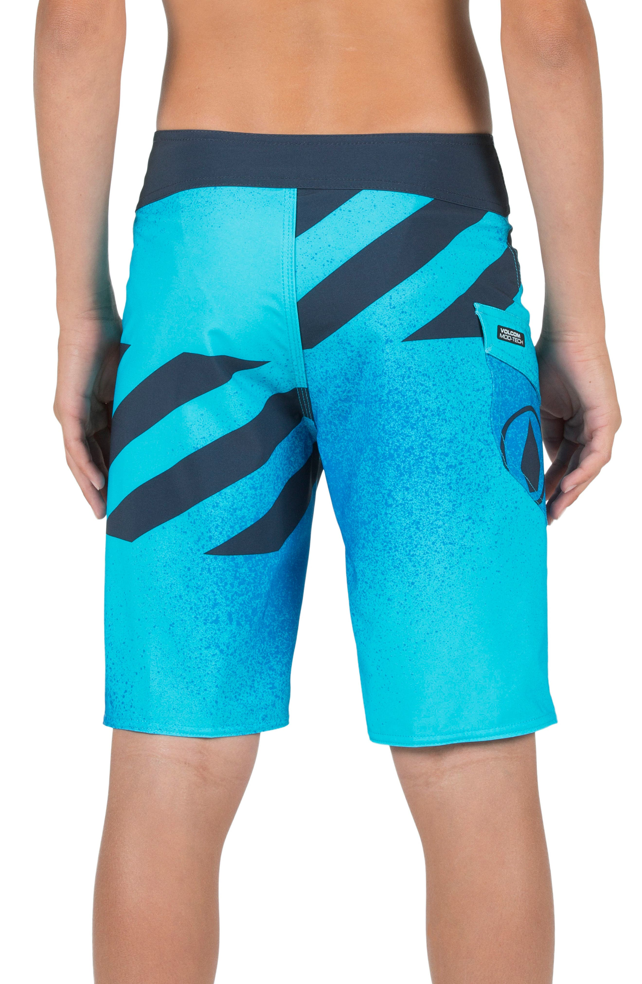Logo Party Pack Mod Board Shorts,                             Alternate thumbnail 3, color,                             432