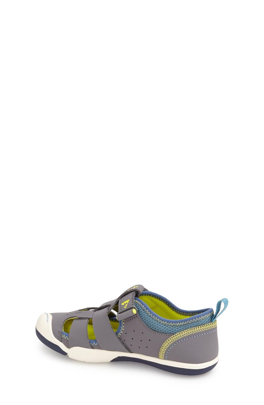 Sam Customizable Sneaker,                             Alternate thumbnail 2, color,                             STEEL