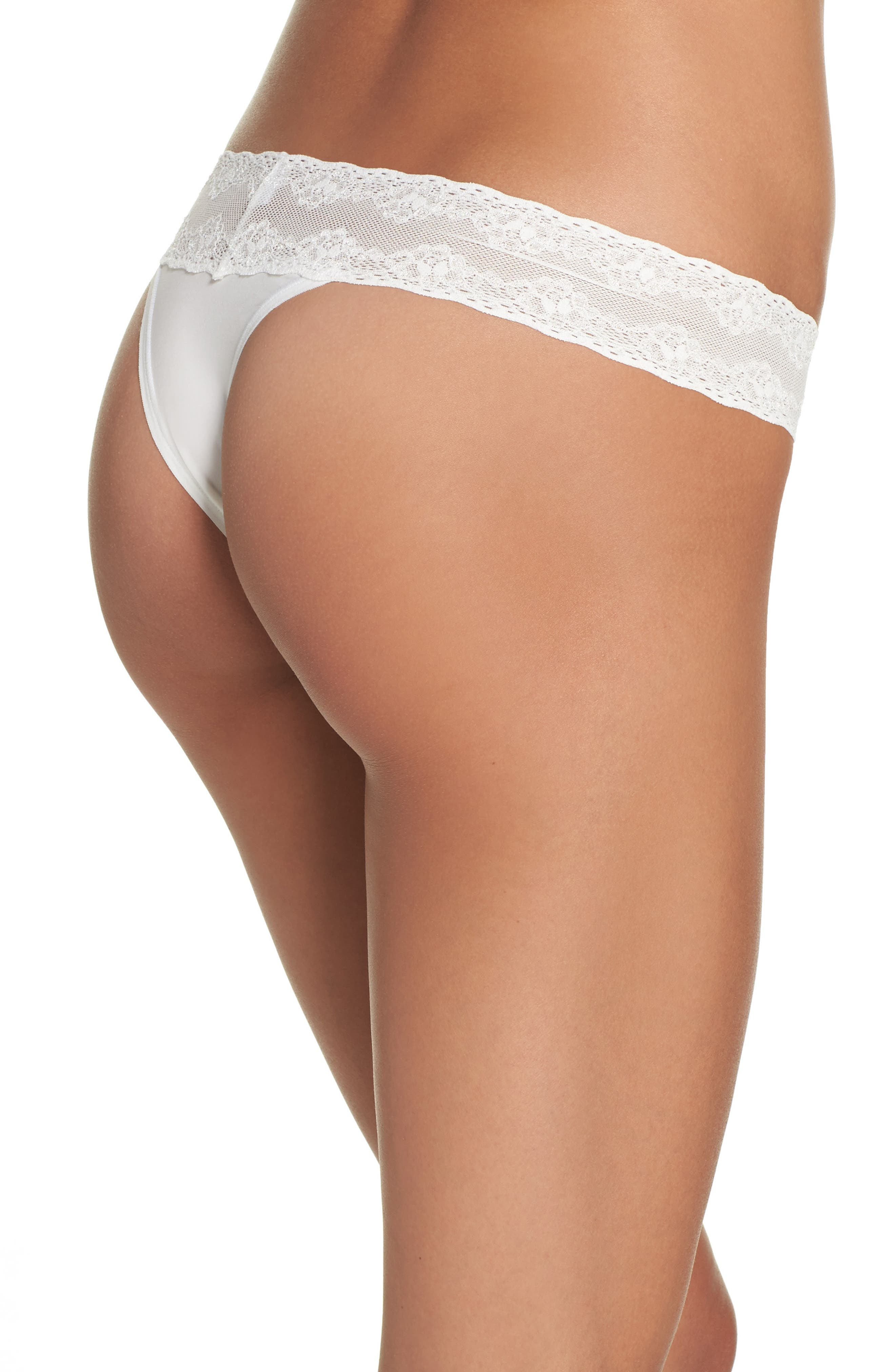 Bliss Perfection Thong,                             Alternate thumbnail 195, color,