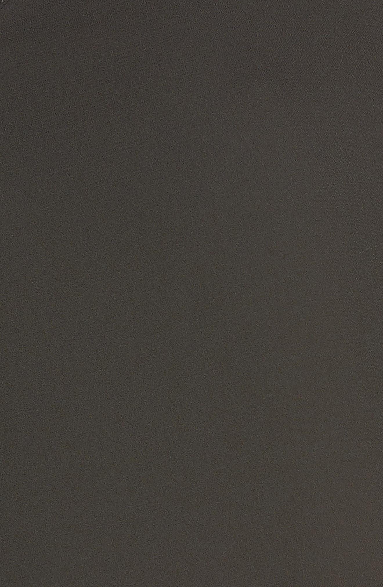 Kamala Short Pajamas,                             Alternate thumbnail 5, color,                             BLACK