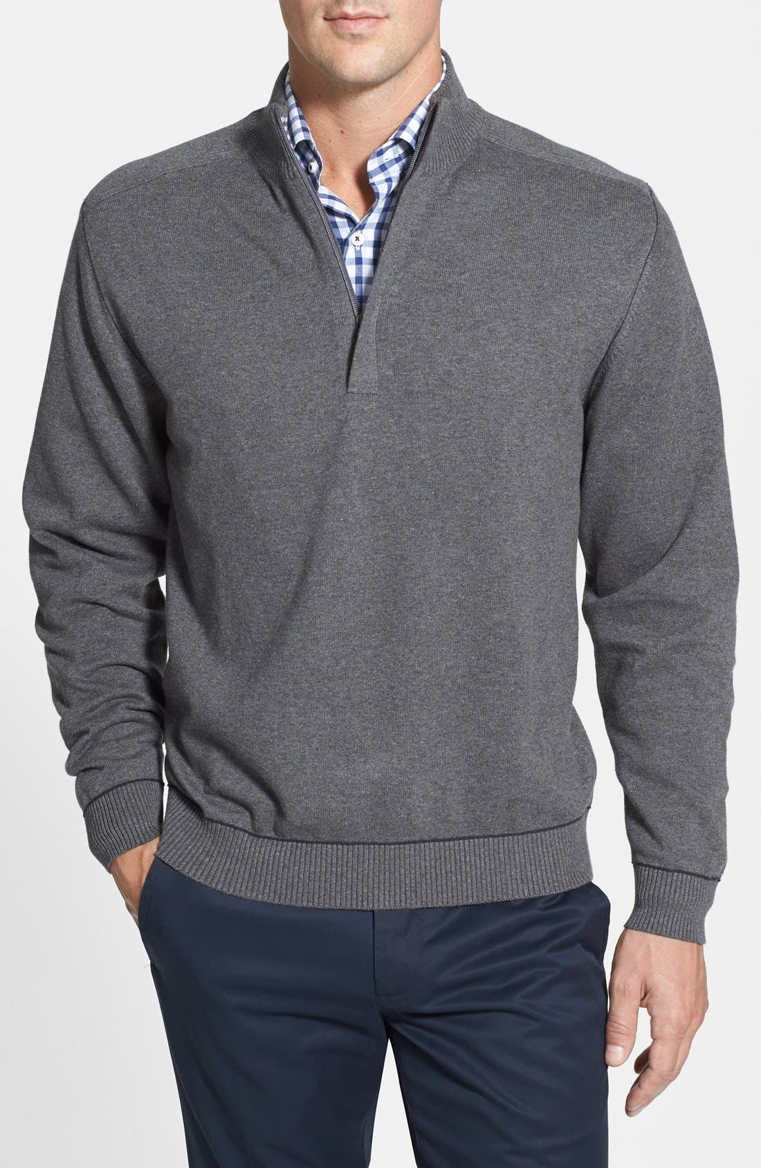 Broadview Half Zip Sweater,                             Main thumbnail 3, color,