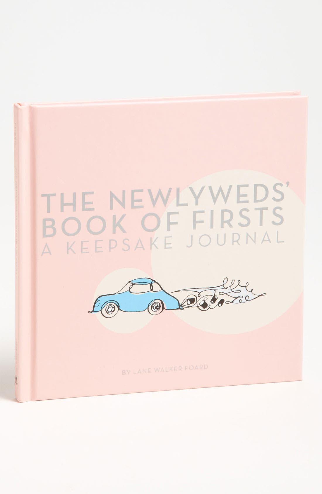 Lane Walker Foard 'The Newlyweds' Book of Firsts' Keepsake Journal,                             Main thumbnail 1, color,                             960