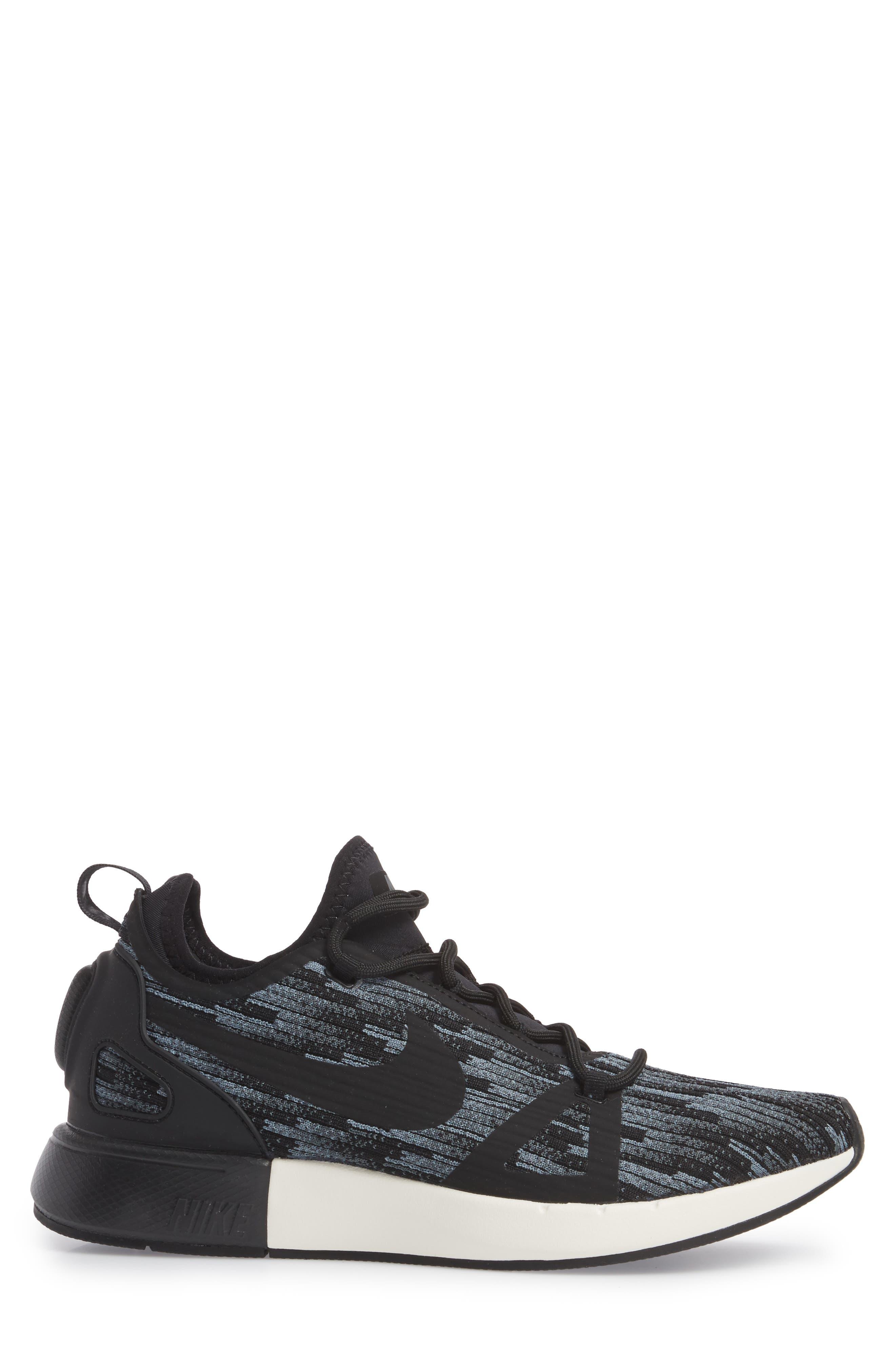 Duel Racer SE Knit Sneaker,                             Alternate thumbnail 3, color,                             020