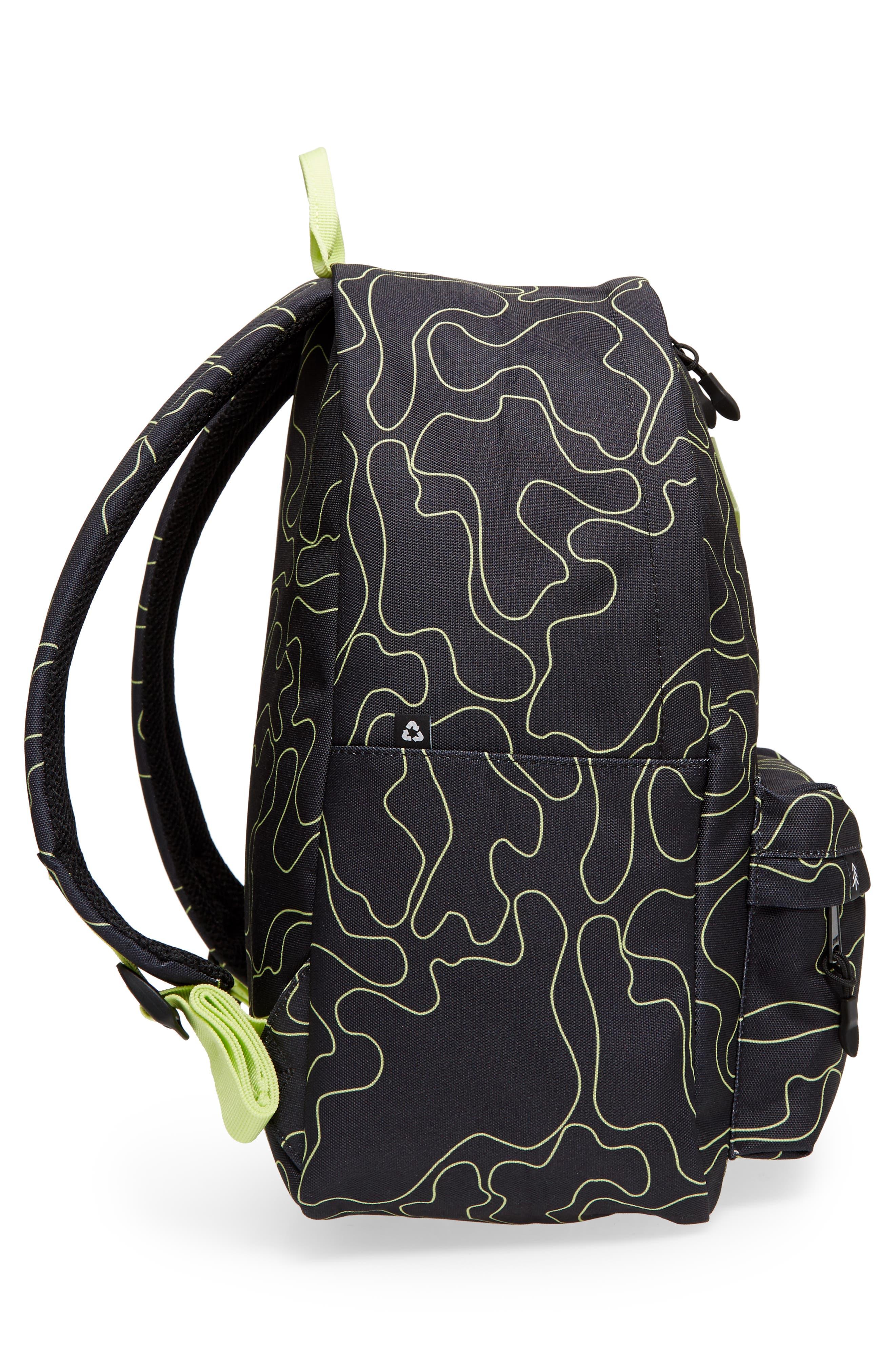 Bayside Print Backpack,                             Alternate thumbnail 12, color,