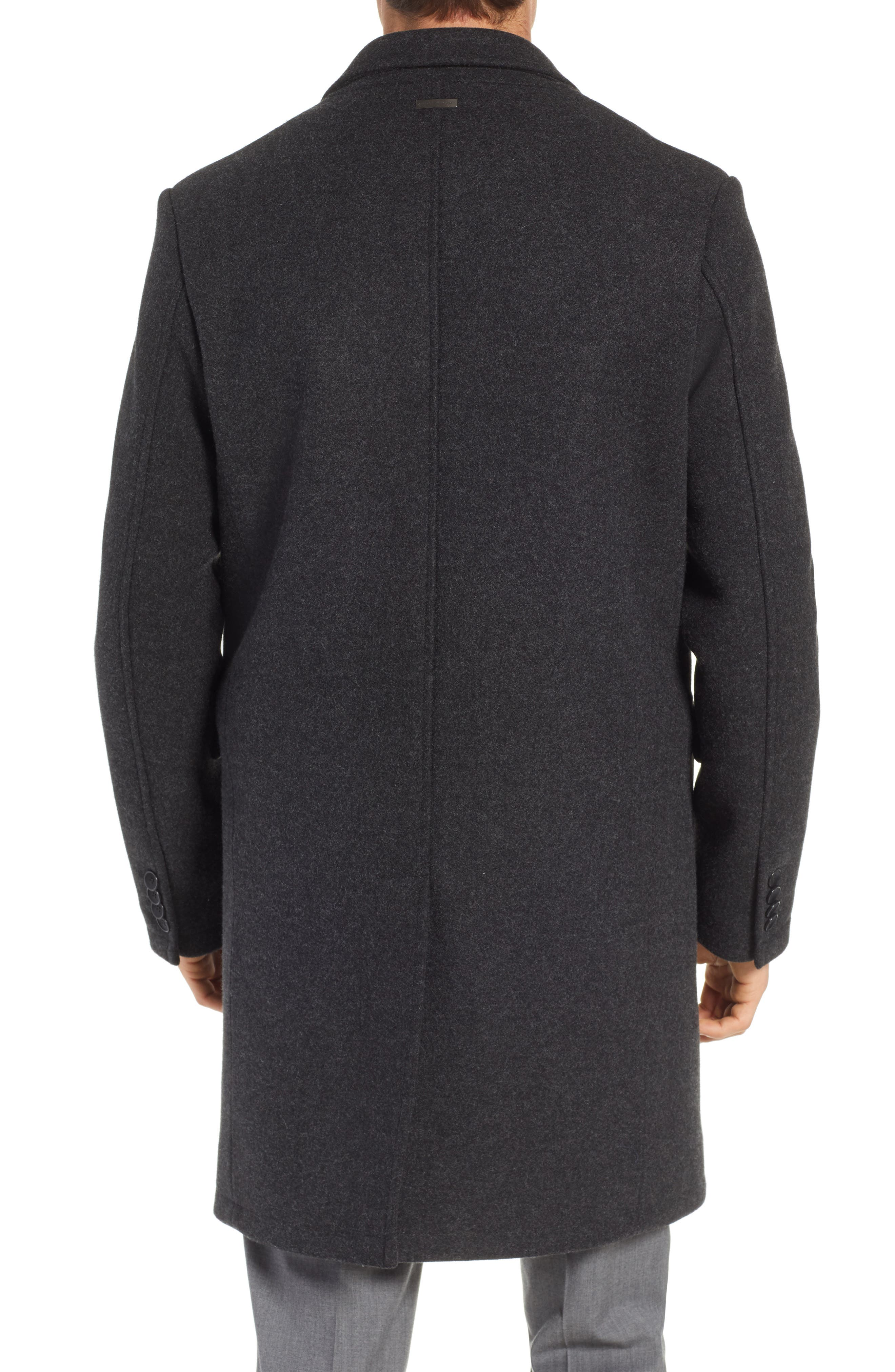 Westcott Wool Car Coat,                             Alternate thumbnail 2, color,                             001