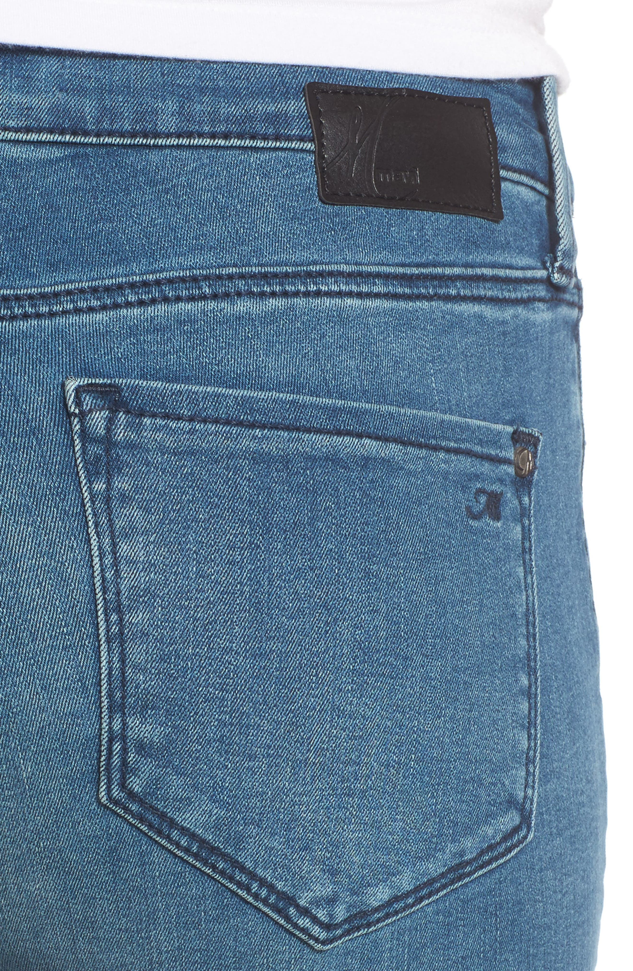 Adriana Ankle Skinny Jeans,                             Alternate thumbnail 4, color,                             420