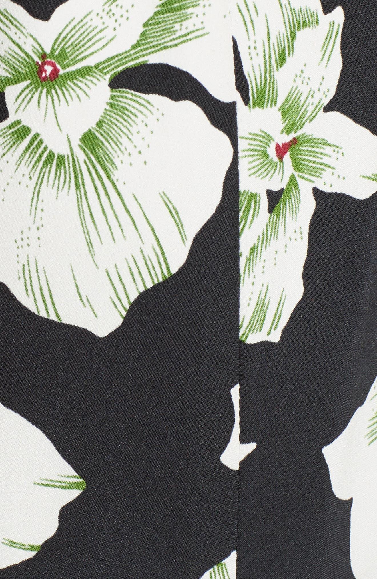 Blakely Off the Shoulder Dress,                             Alternate thumbnail 5, color,
