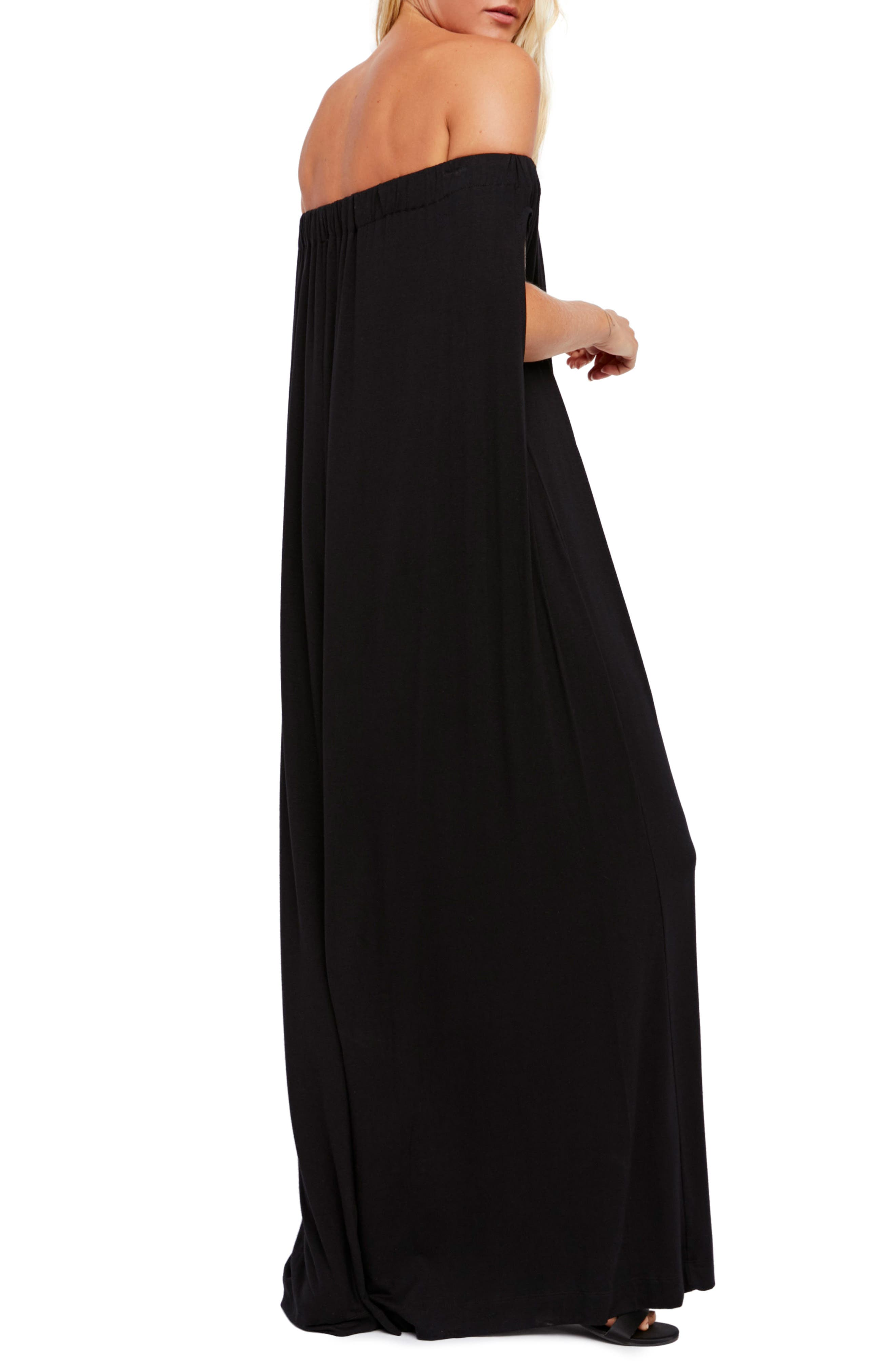 Endless Summer by Free People Mexicali Jumpsuit,                             Alternate thumbnail 2, color,                             BLACK