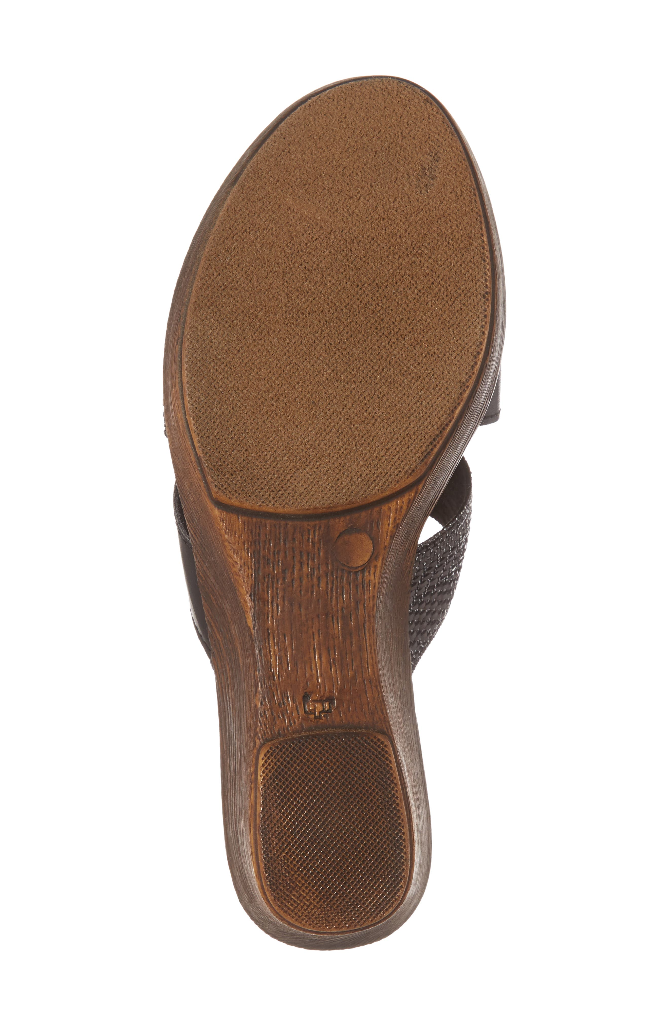 by Easy Street<sup>®</sup> Positano Sandal,                             Alternate thumbnail 6, color,                             001