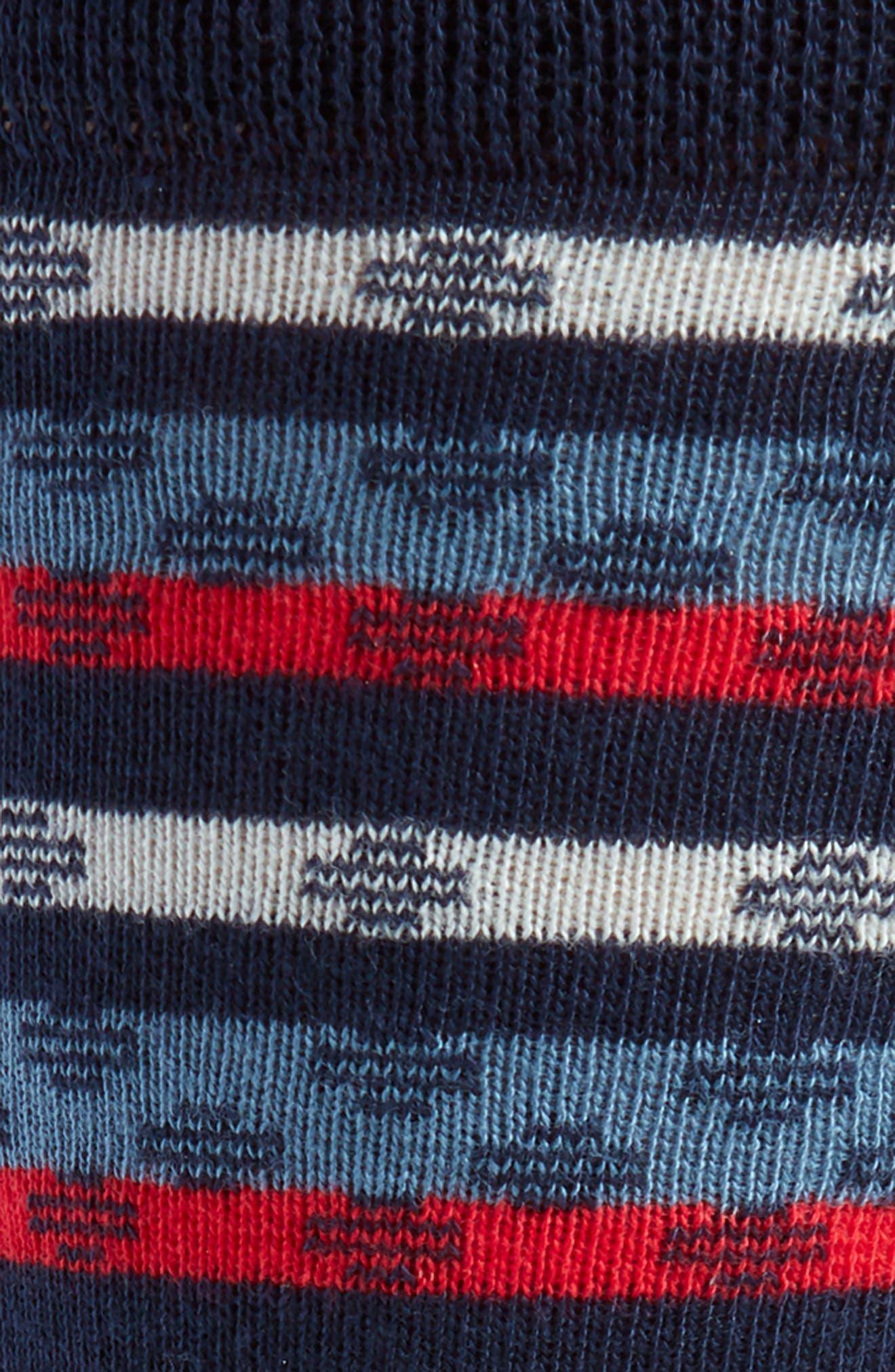 TED BAKER LONDON,                             Stripe Socks,                             Alternate thumbnail 2, color,                             410