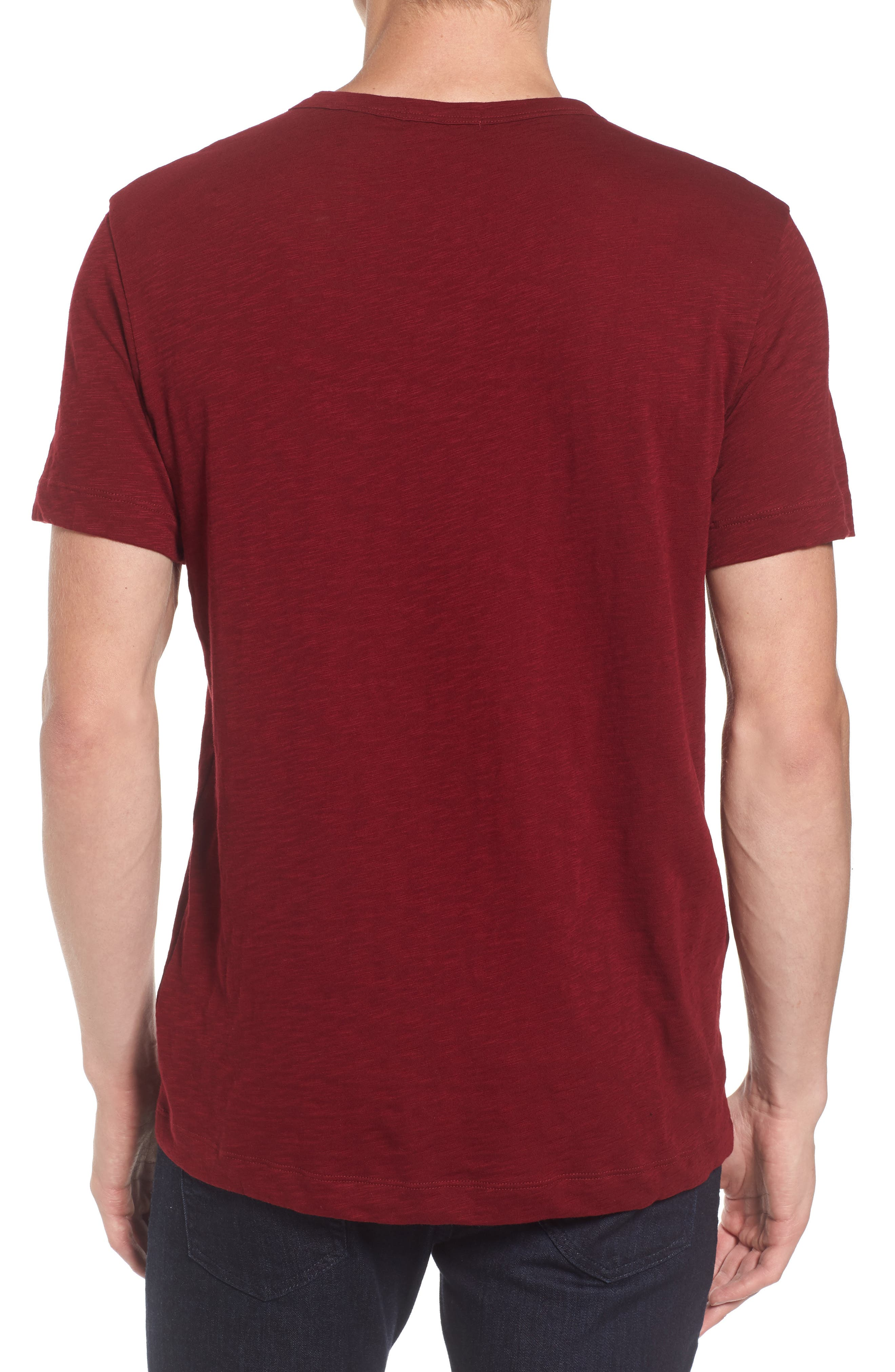 Gaskell Henley T-Shirt,                             Alternate thumbnail 9, color,