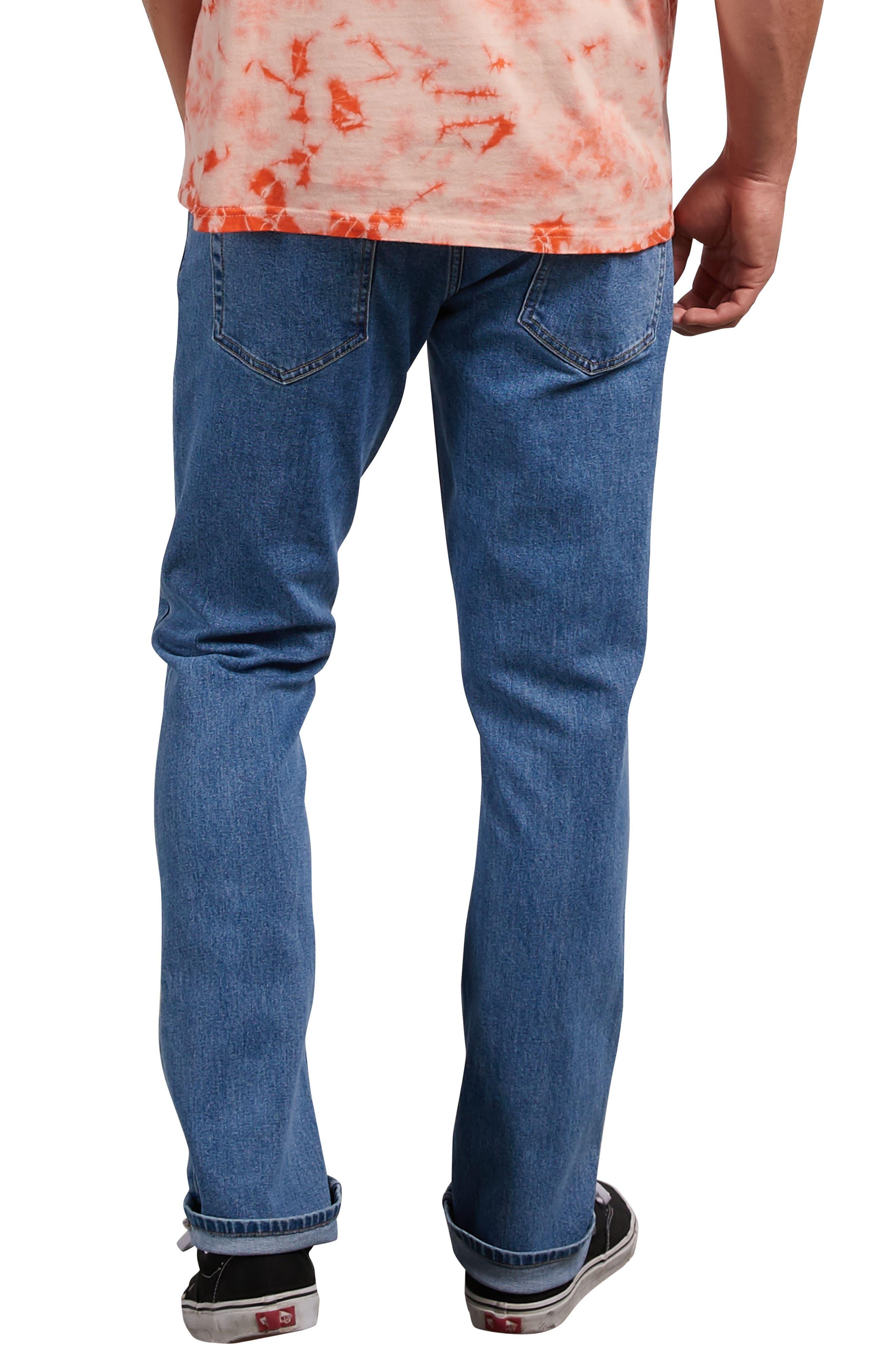 Vorta Slim Fit Jeans,                             Alternate thumbnail 2, color,                             STONE BLUE