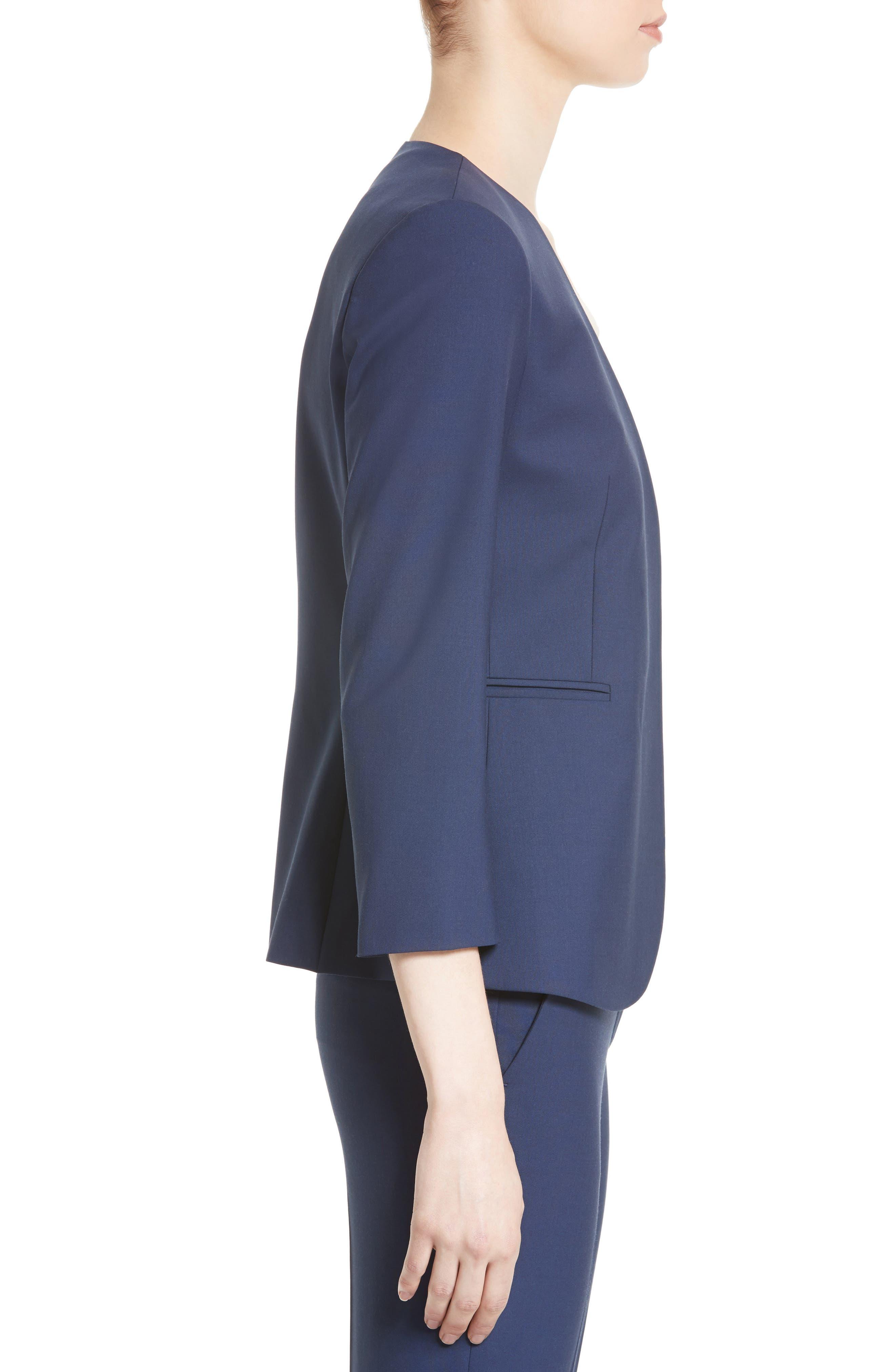 Lindrayia B Good Wool Suit Jacket,                             Alternate thumbnail 9, color,