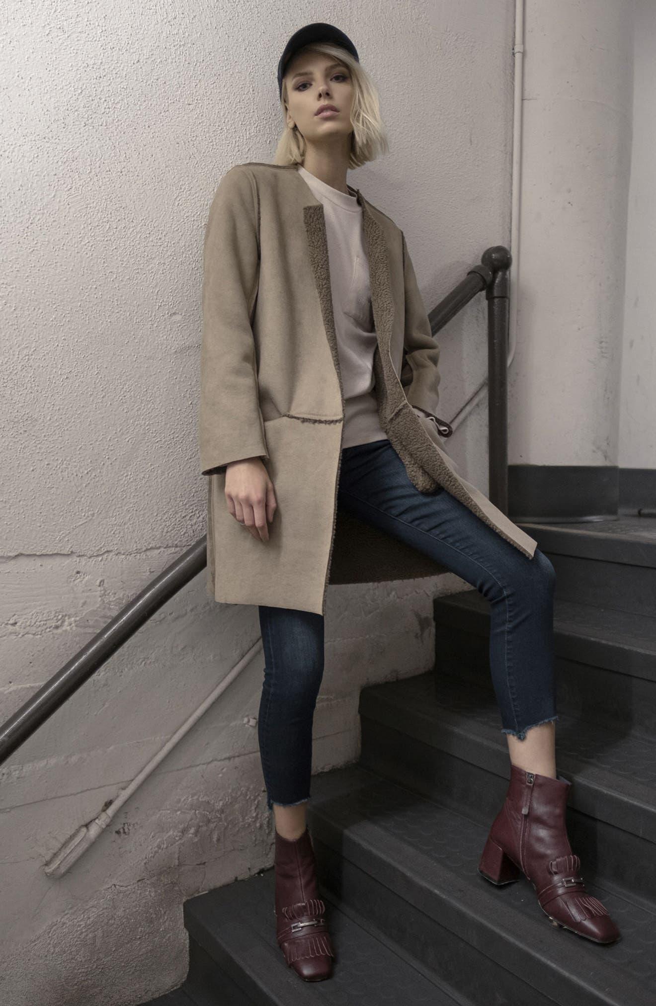 Reversible Fleece Jacket,                             Alternate thumbnail 7, color,                             239