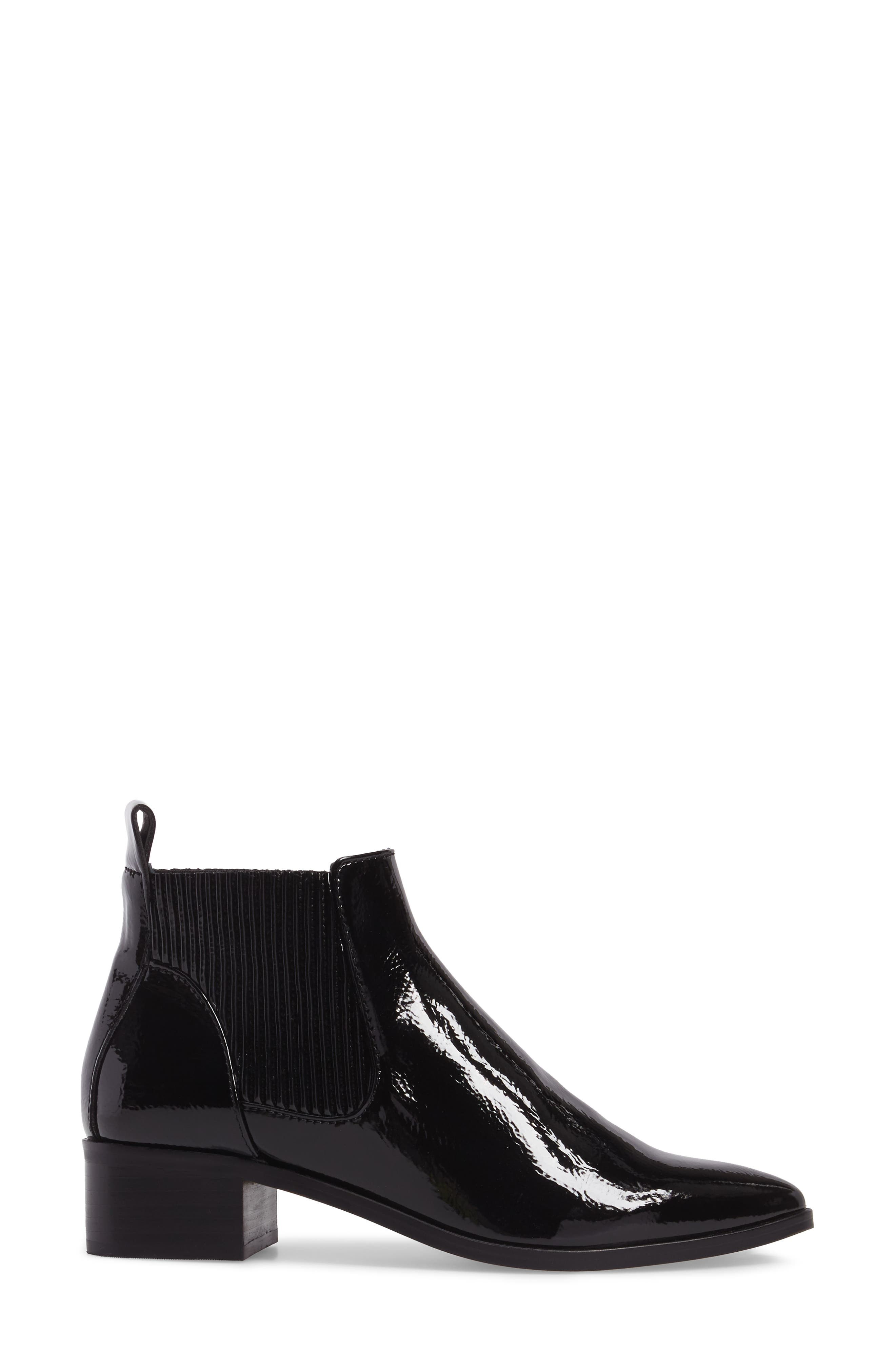 Macie Pointy Toe Chelsea Bootie,                             Alternate thumbnail 9, color,