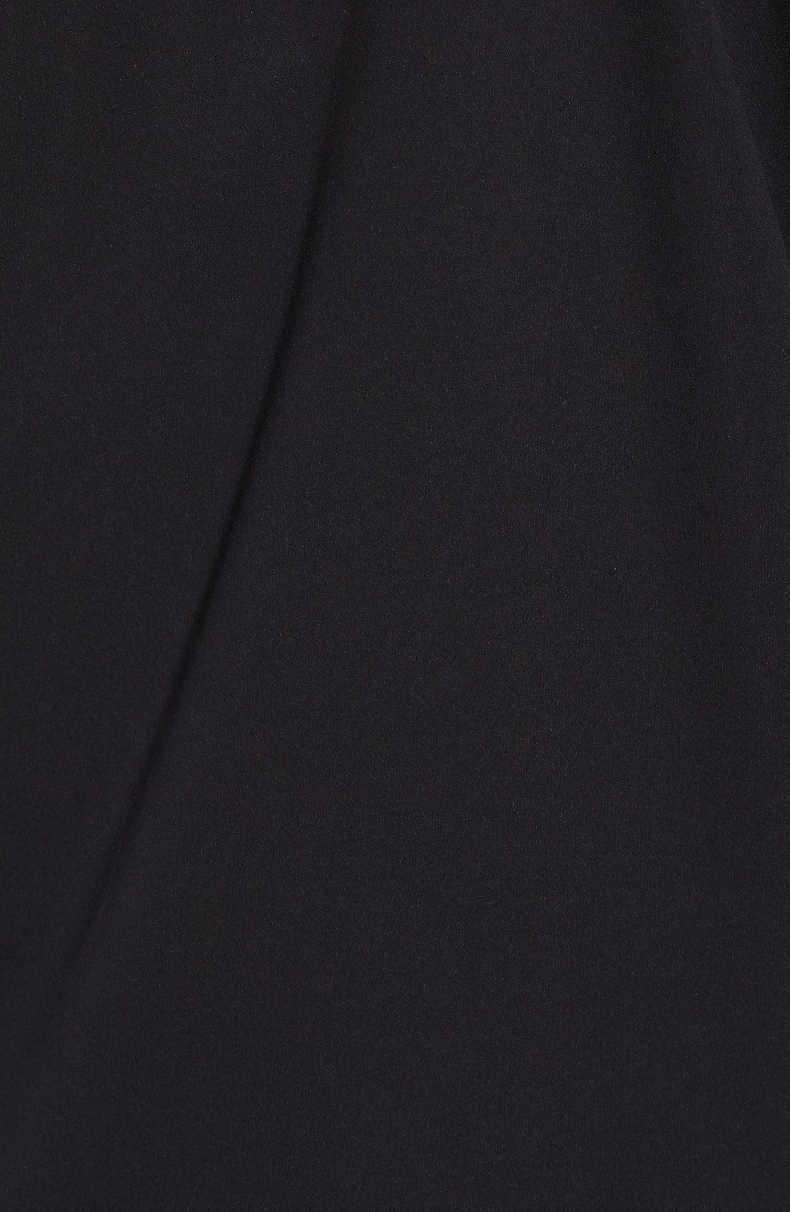 Allproof Stretch Hooded Rain Jacket,                             Alternate thumbnail 7, color,                             TNF BLACK