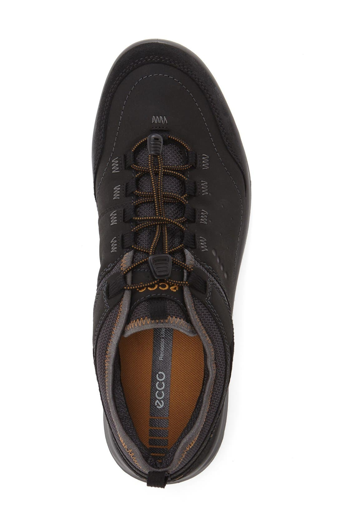 'Espinho GTX' Sneaker,                             Alternate thumbnail 3, color,                             BLACK LEATHER